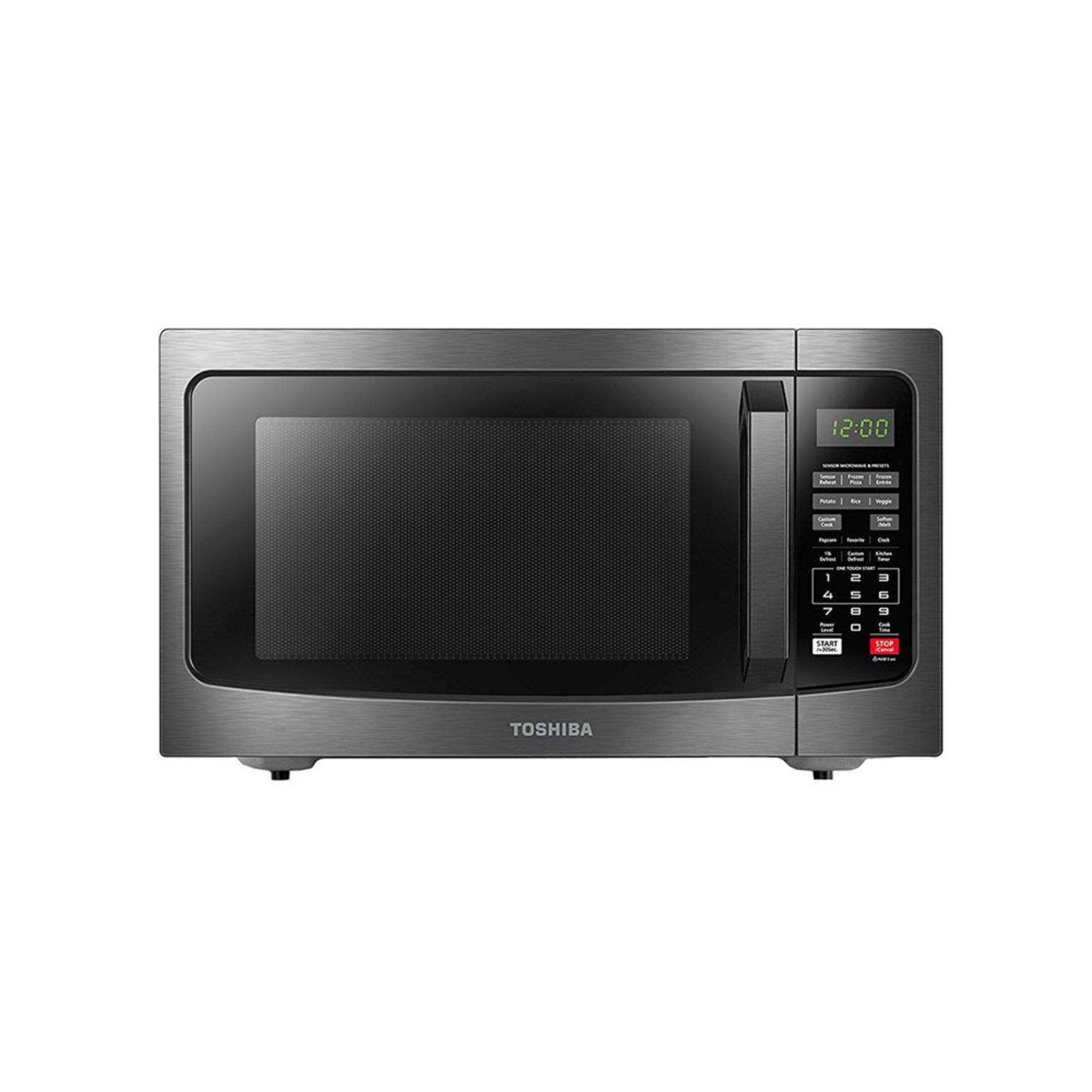 American Heritage Microwave Oven: Toshiba 1.2-cu.ft. Countertop Microwave With Smart Sensor