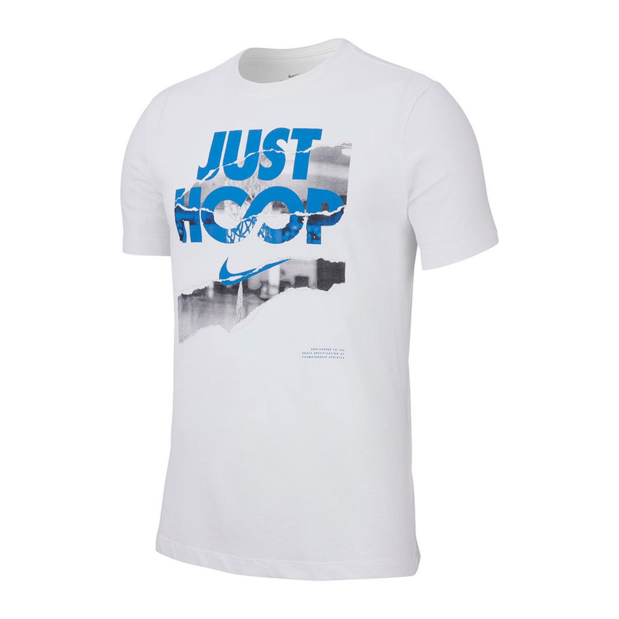 7da49ce8 Nike Men's Dri-fit Short Sleeve Just Hoops Tee | Active Tees ...