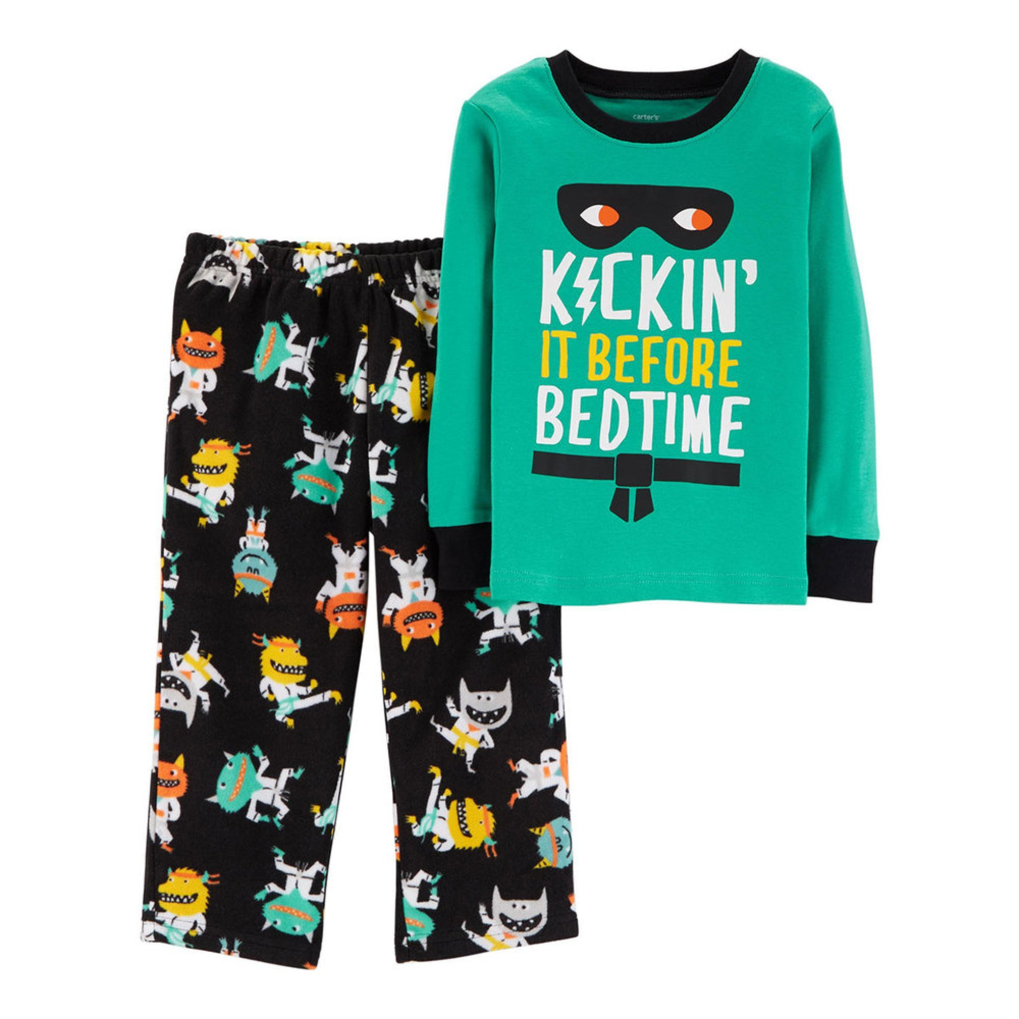 64bfc42c2 Carter s Baby Boys  2-piece Kickin  It Pajama Set