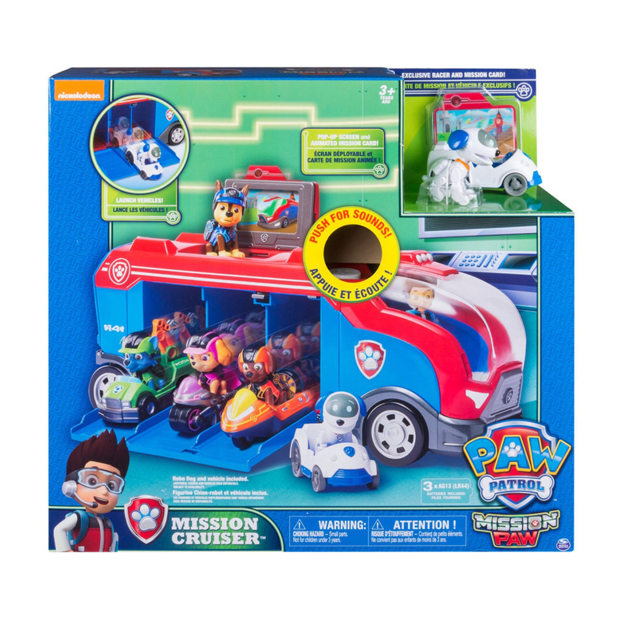 Paw Patrol Mission Cruiser | Early Learning Toys | Baby