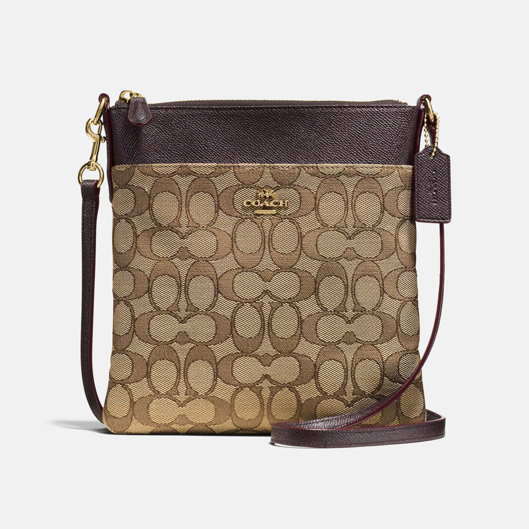 c1f5ff9010 COACH. Coach Signature Messenger Crossbody