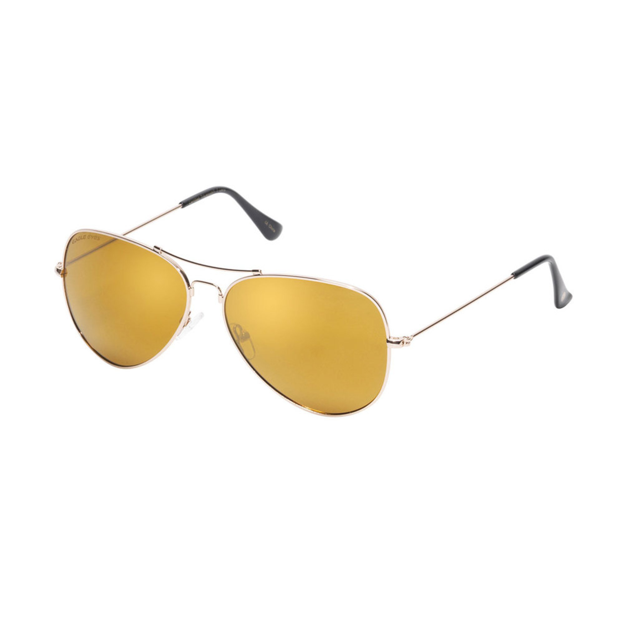 8dcd471ed0 Eagle Eyes. Eagle Eyes Unisex Polarized Aviator Memory Flex Sunglasses