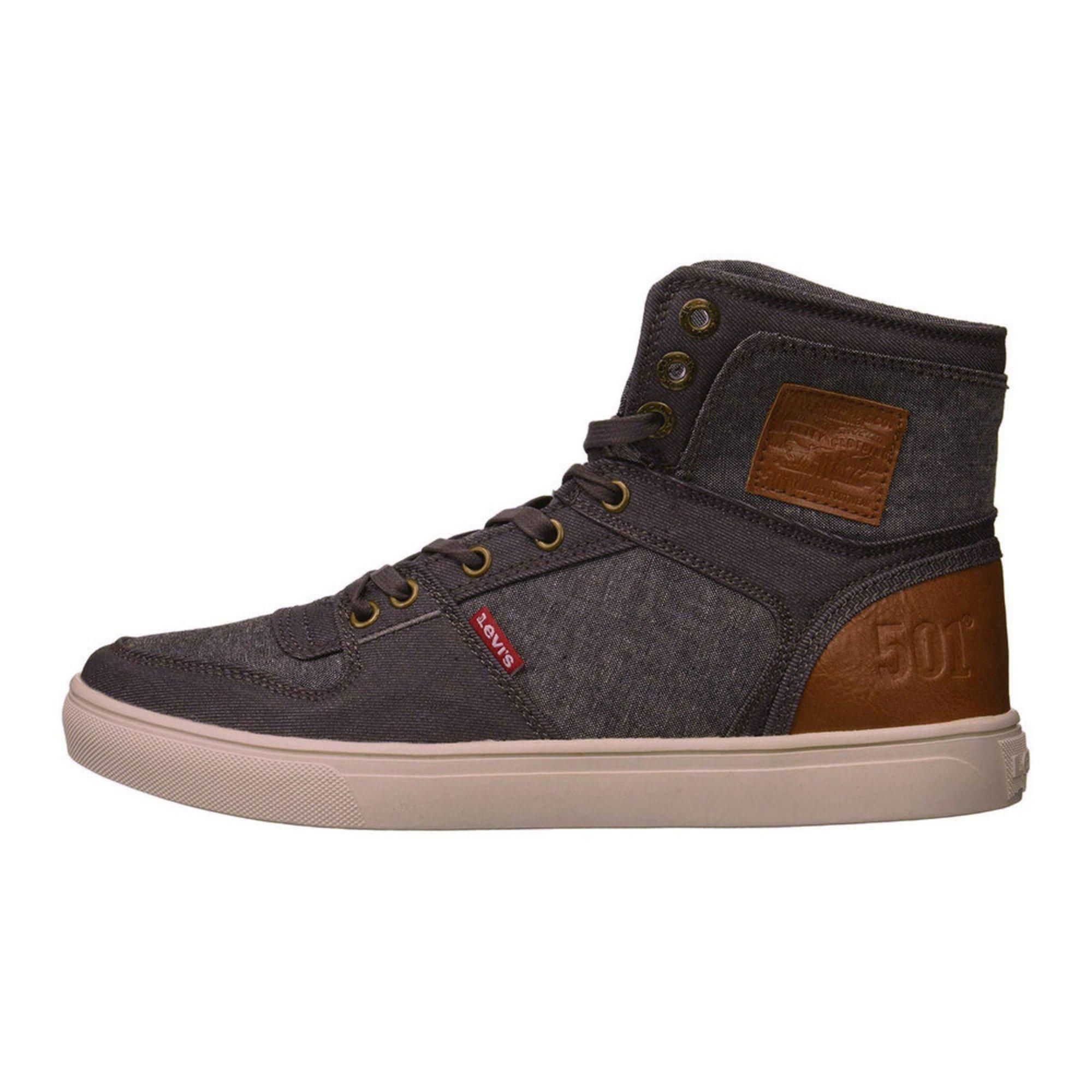 a4da3059f36c Levis Men s Mason 501 Hi Top Sneaker