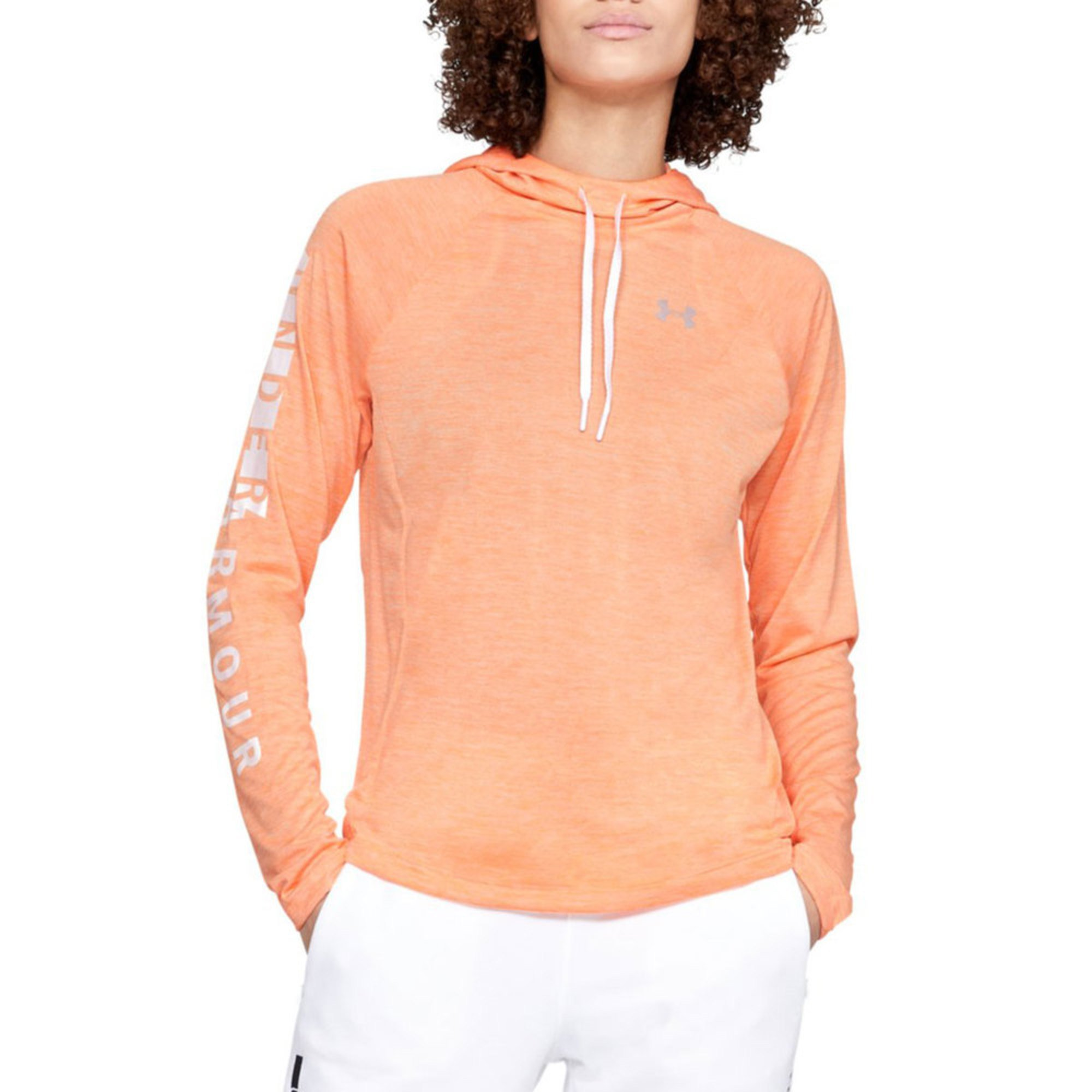 Under Armour womens Tech Long Sleeve Hoodie 2.0 Graphic