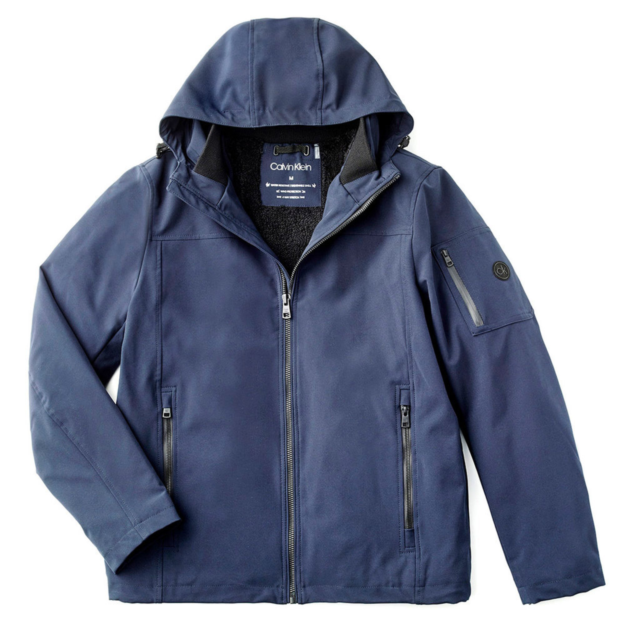 5b3646afe46 Calvin Klein Men s Softshell with Mesh Back and Sherpa Lining. MSRP.   199.00. Product Rating 0 Based on 0 reviews. 410