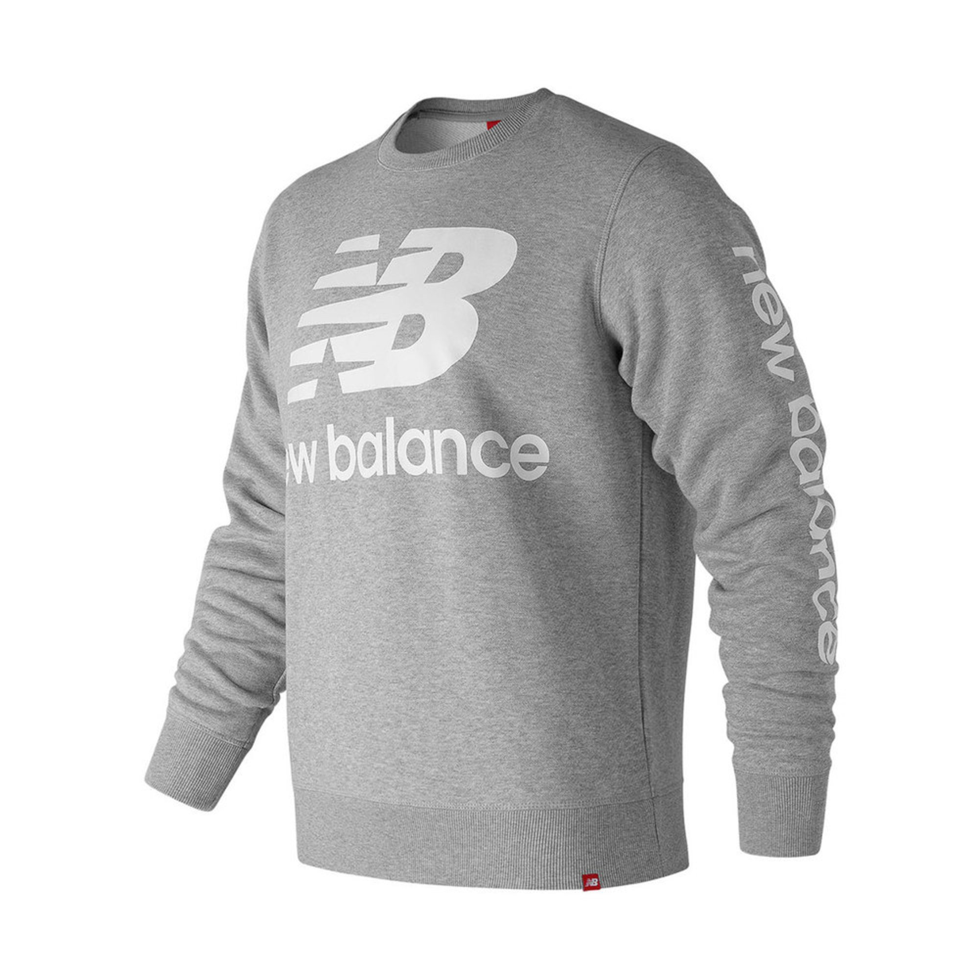 0c8544a28a8f6 New Balance Men's Essentials Logo Crew | Active Hoodies & Fleece ...