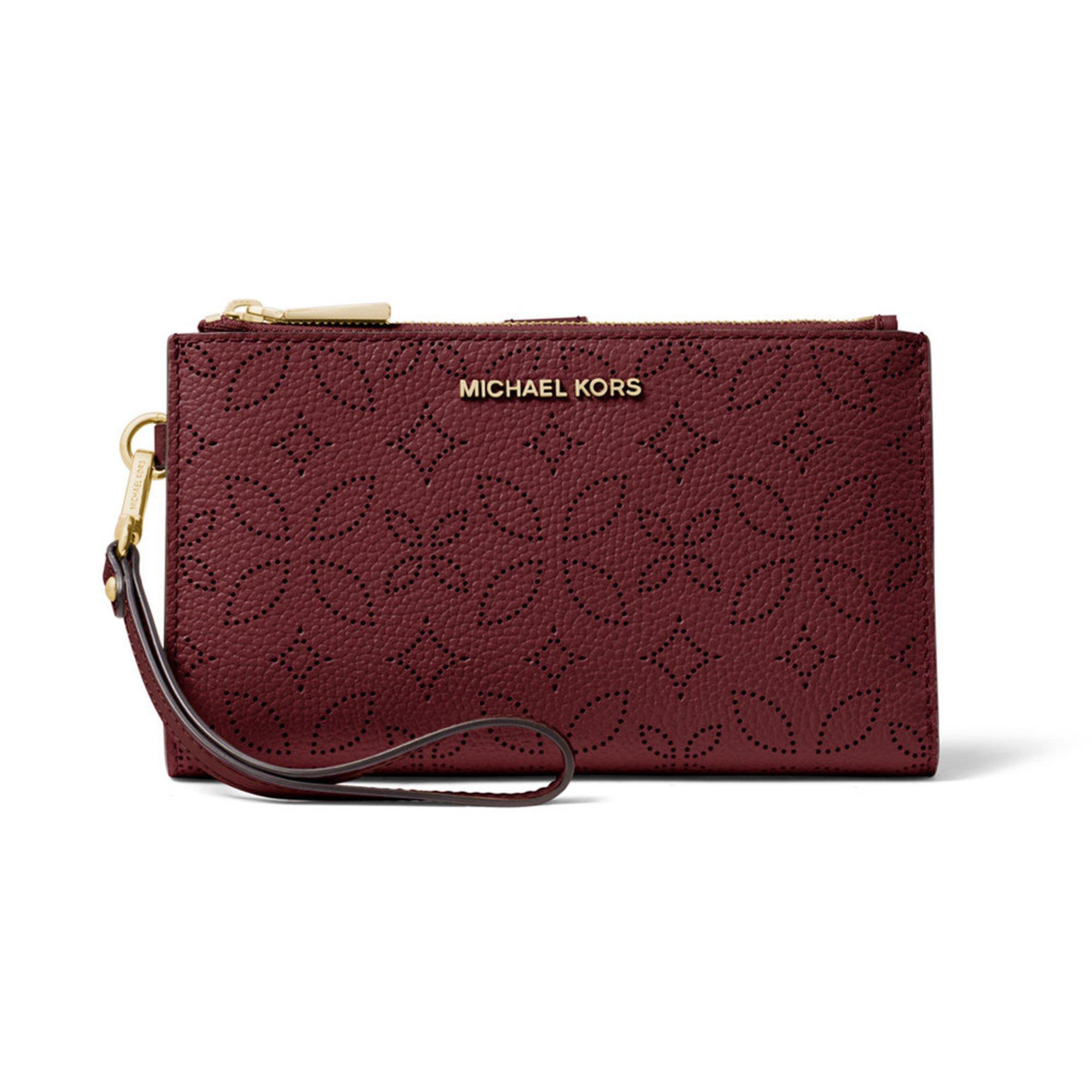 a8ce565745a581 Michael Kors Double Zip Wristlet | Wristlets | Handbags & Sunglasses - Shop  Your Navy Exchange - Official Site