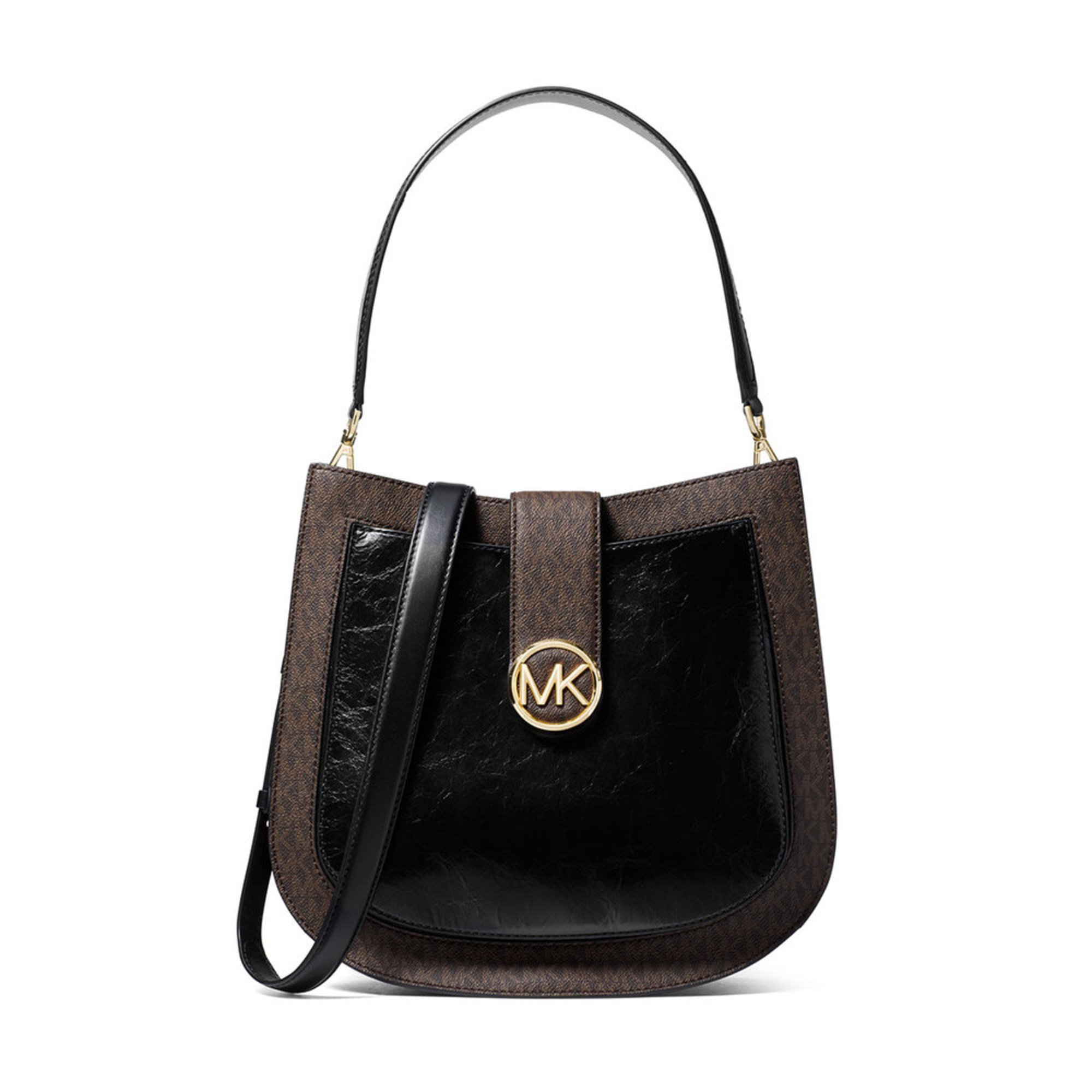 a10a779d3844a Michael Kors Lillie Large Hobo Messenger