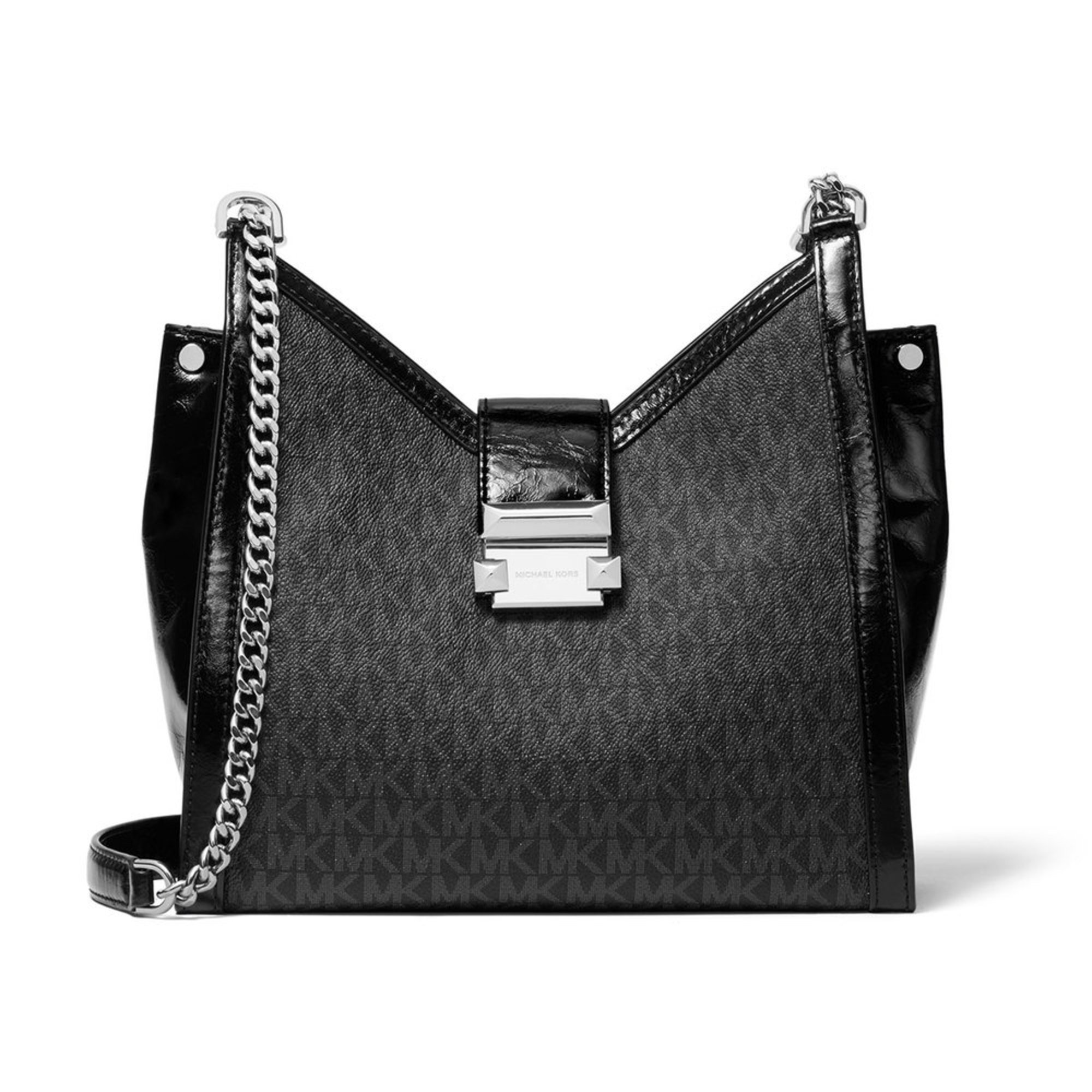 420189c852201 Michael Kors Whitney Small Chain Shoulder Tote