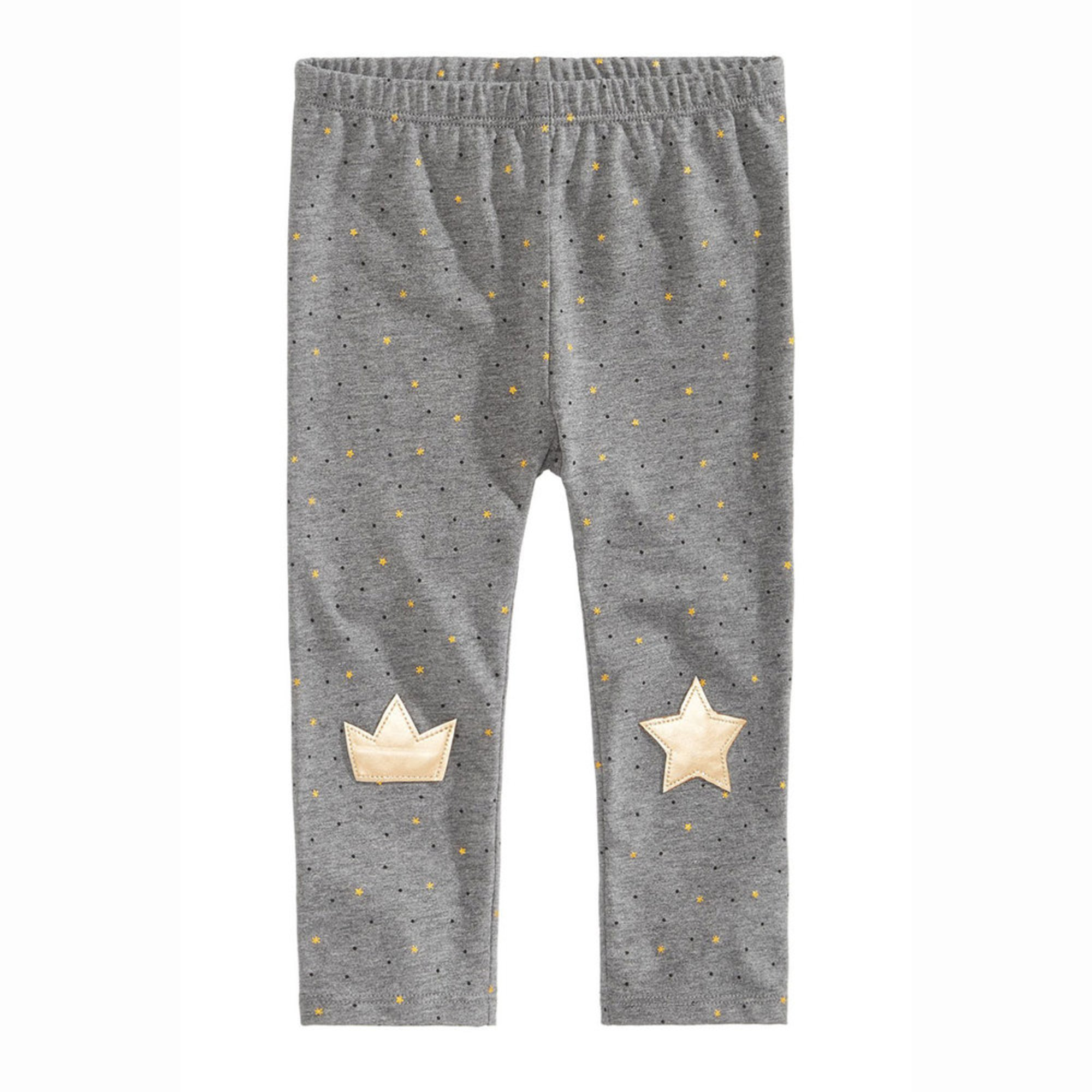 59e65fab8 First Impressions. First Impressions Baby Girls' Gold Patch Legging