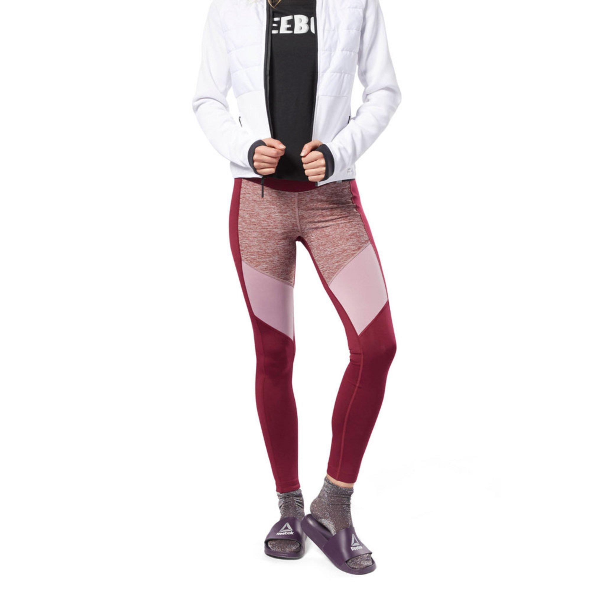 d4c16fd6b08561 Reebok Women's Melange Tights | Active Leggings - Shop Your Navy ...
