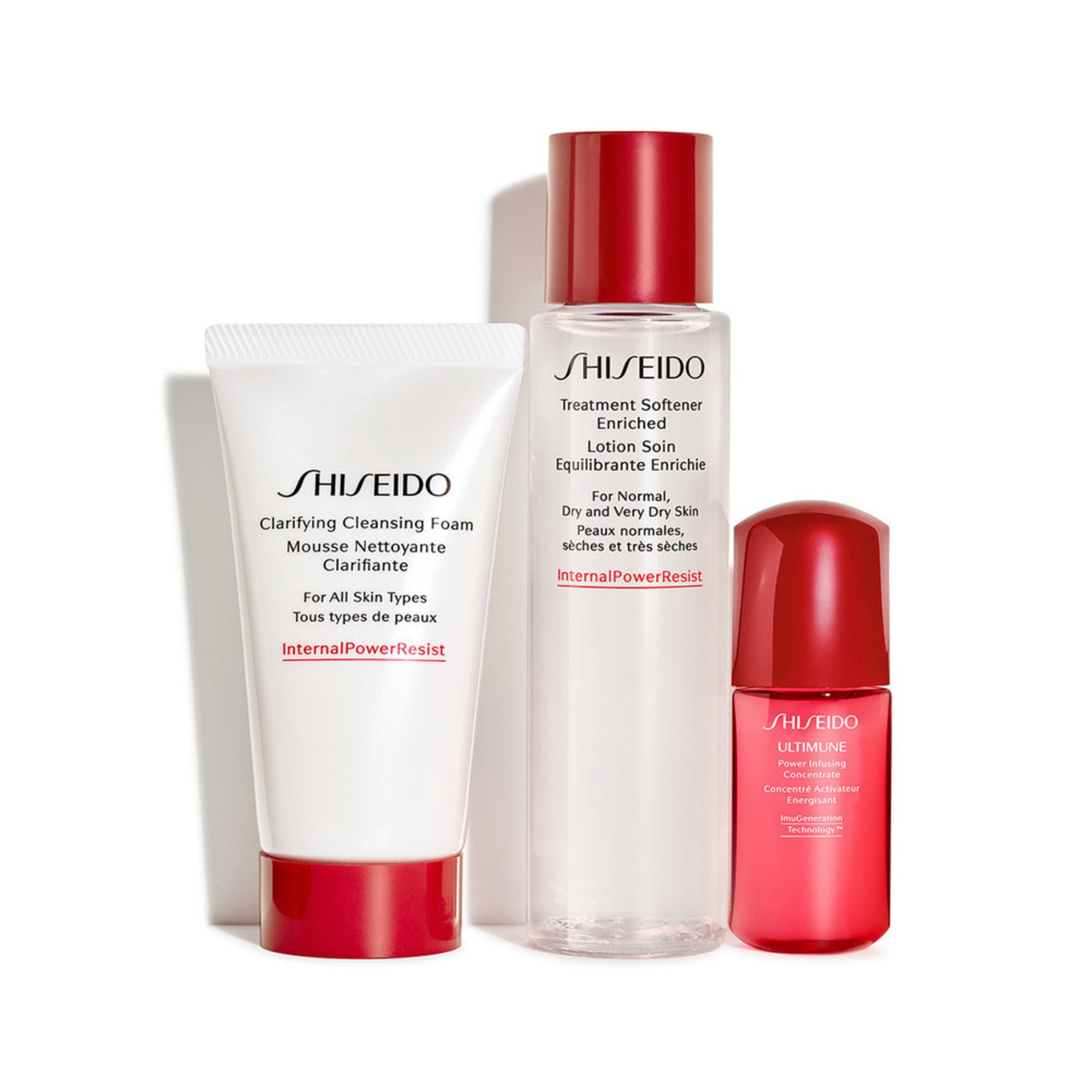 Shiseido Essentials Cleansing Set | Skincare Sets | Health