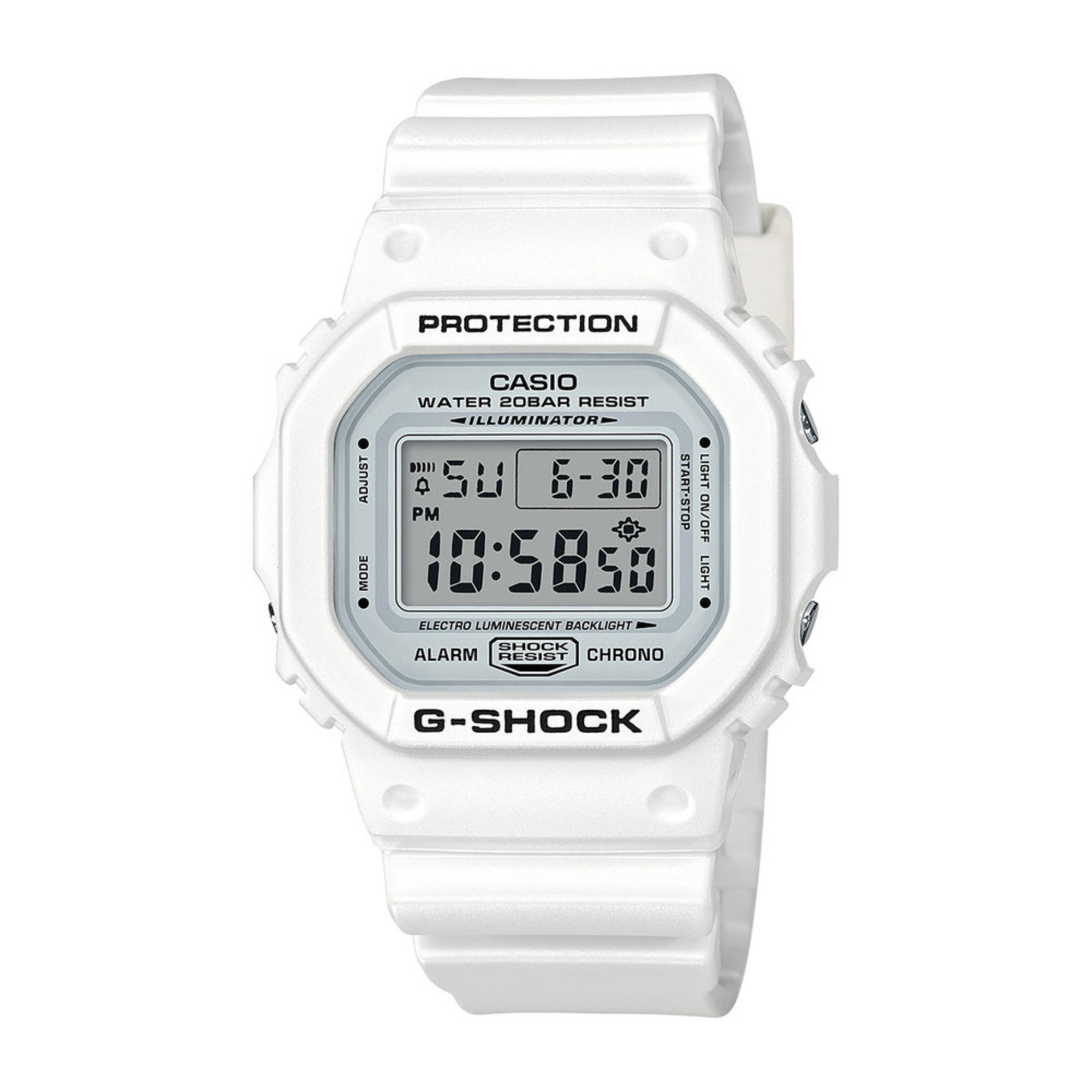 Casio Men S G Shock White Digital Watch 43mm Men S