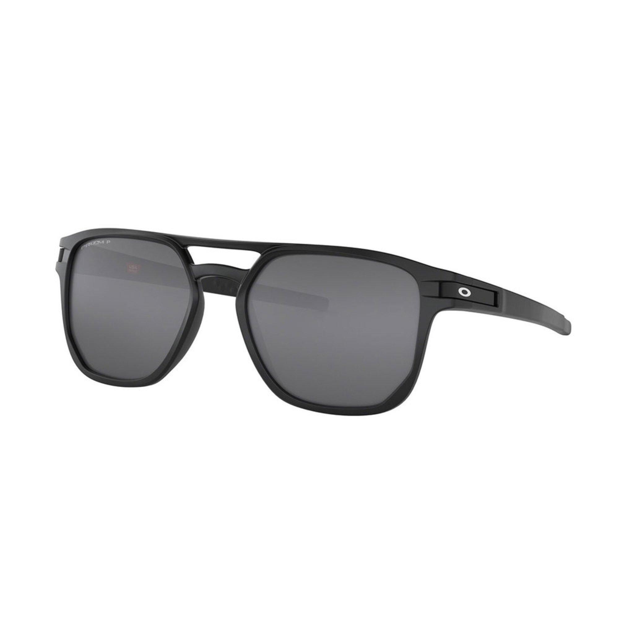 6bb5ed097b Oakley. Oakley Men s Latch Beta Matte Black PRIZM Black Polarized Sunglasses  54mm
