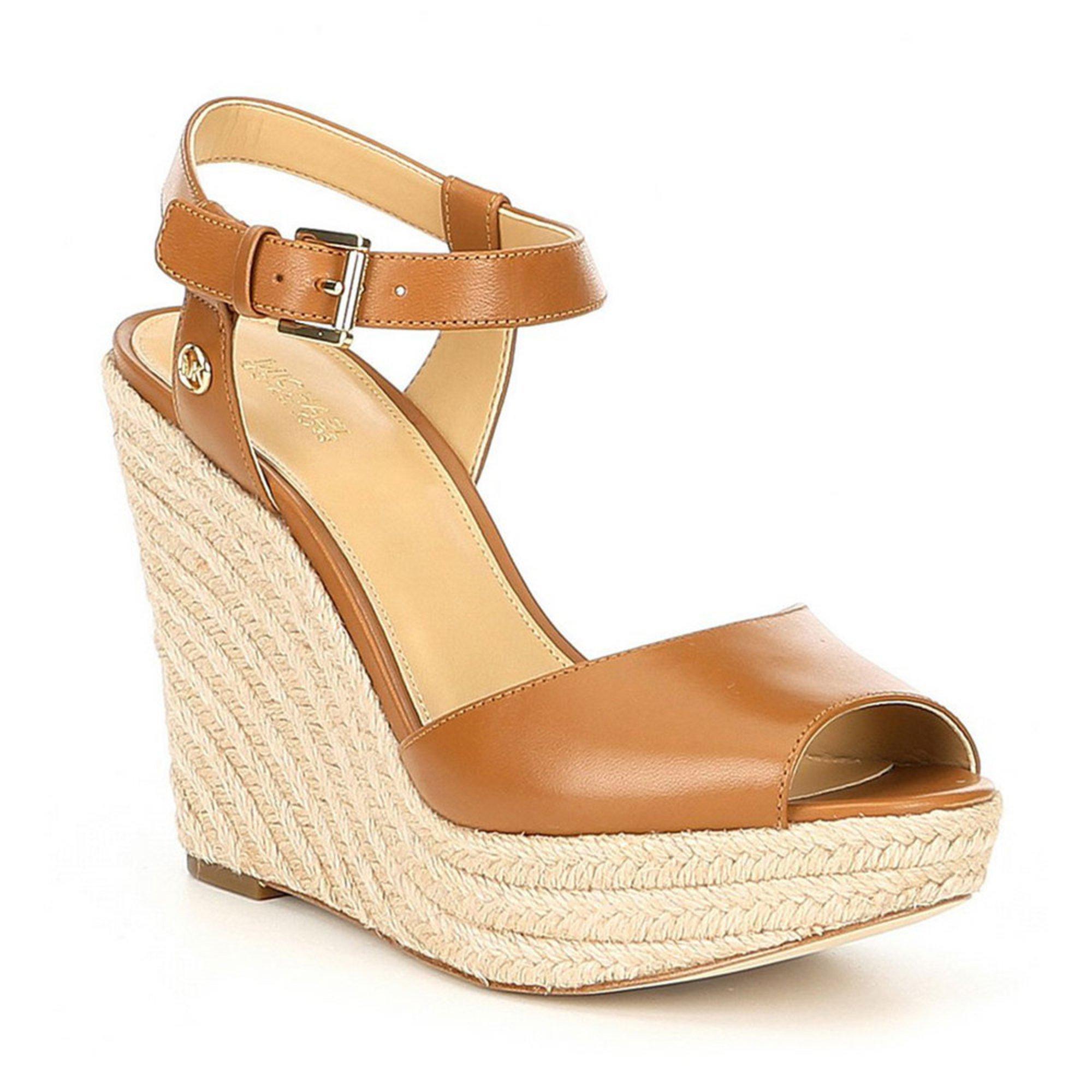 7250d21aea1d Michael Kors Women's Carolyn Wedge   Women's Heels, Pumps & Wedges ...