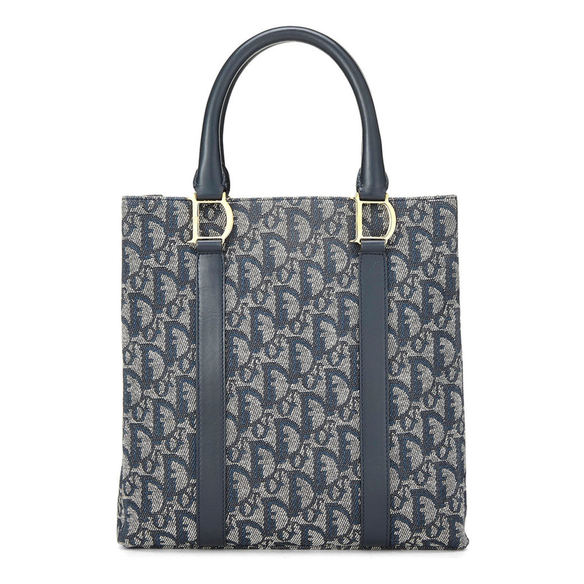 9b43182754c9 Dior Canvas Handbag Navy