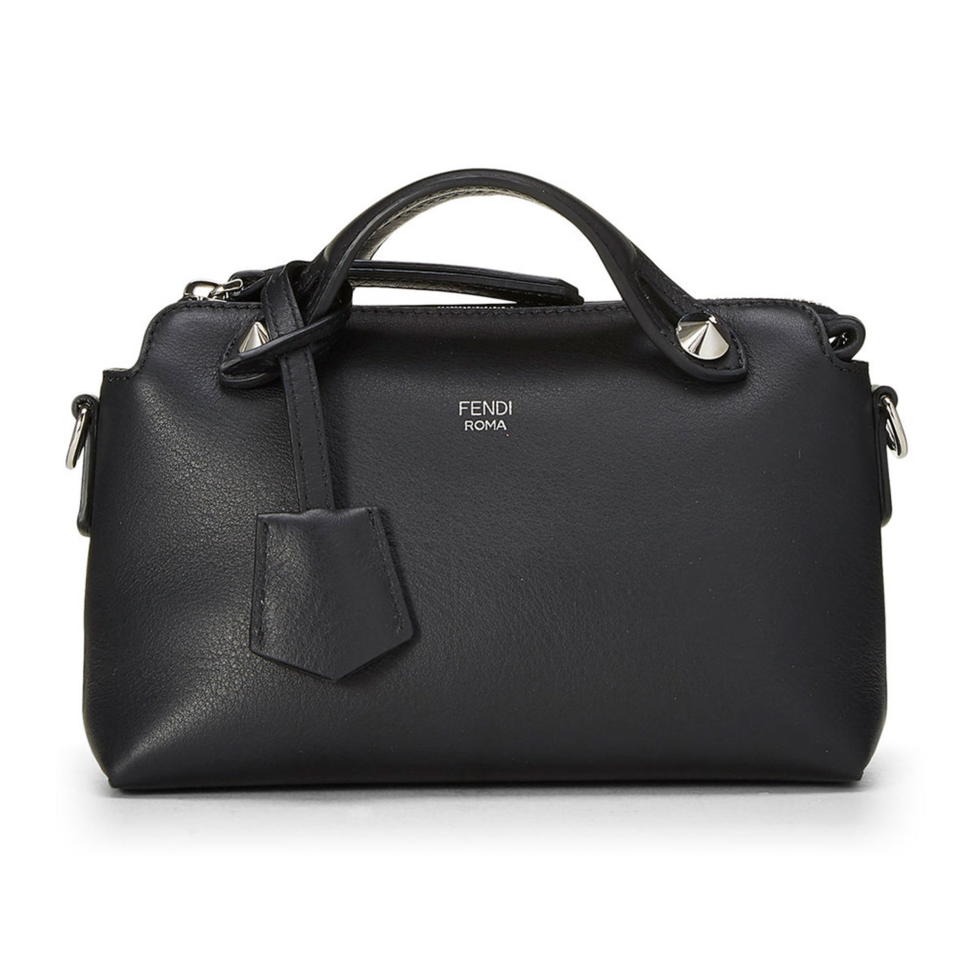 8597ef0732 Fendi Leather By The Way Mini Black | Crossbody & Messenger Bags ...