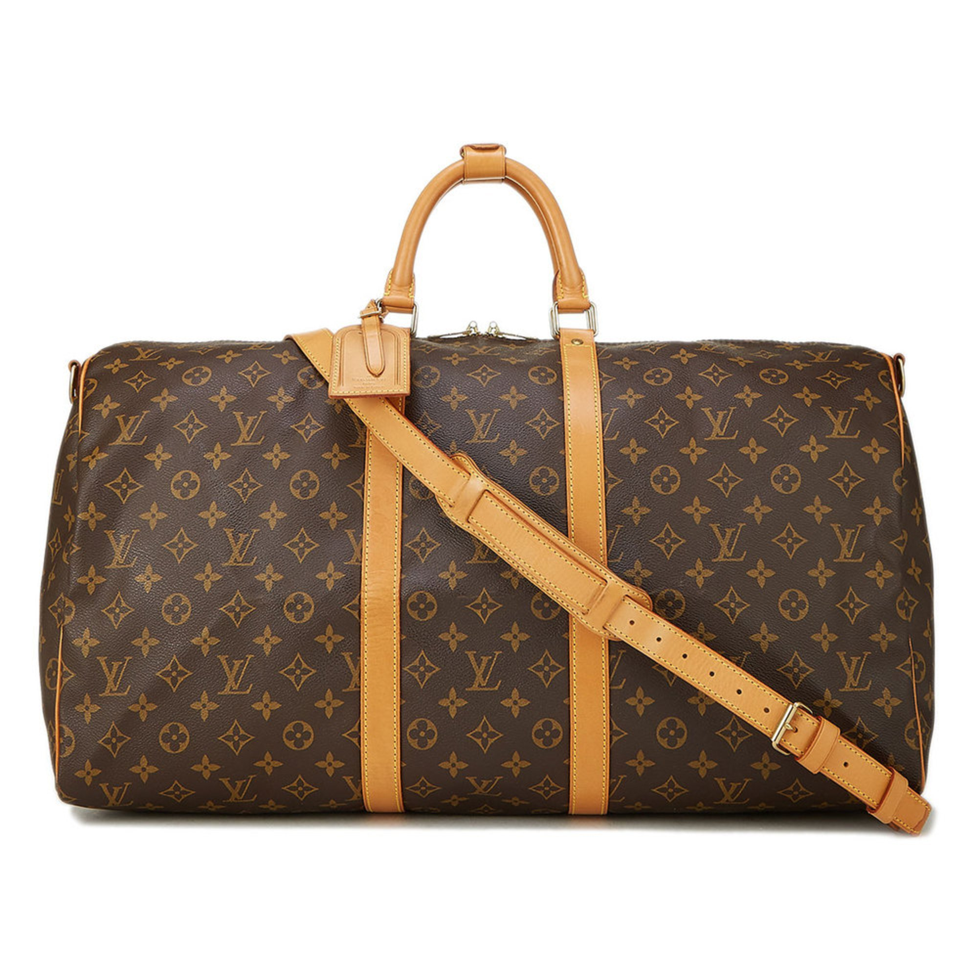 d0b70163ee9 Louis Vuitton Monogram Keepall Bando 55