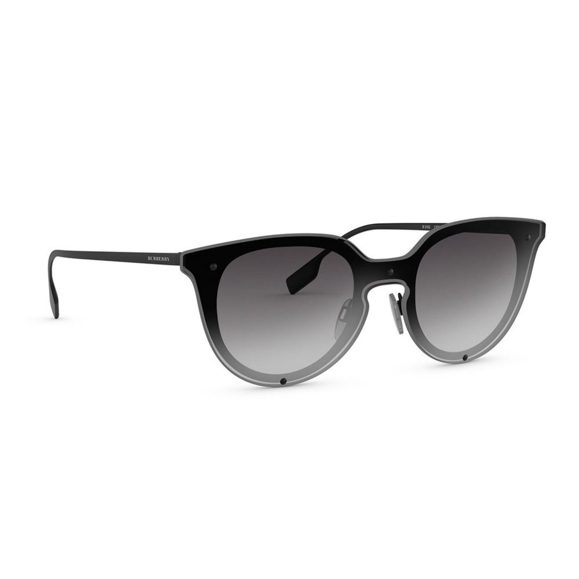 92d89d3519e6 Burberry Women s Black Rubber Sunglasses 39mm