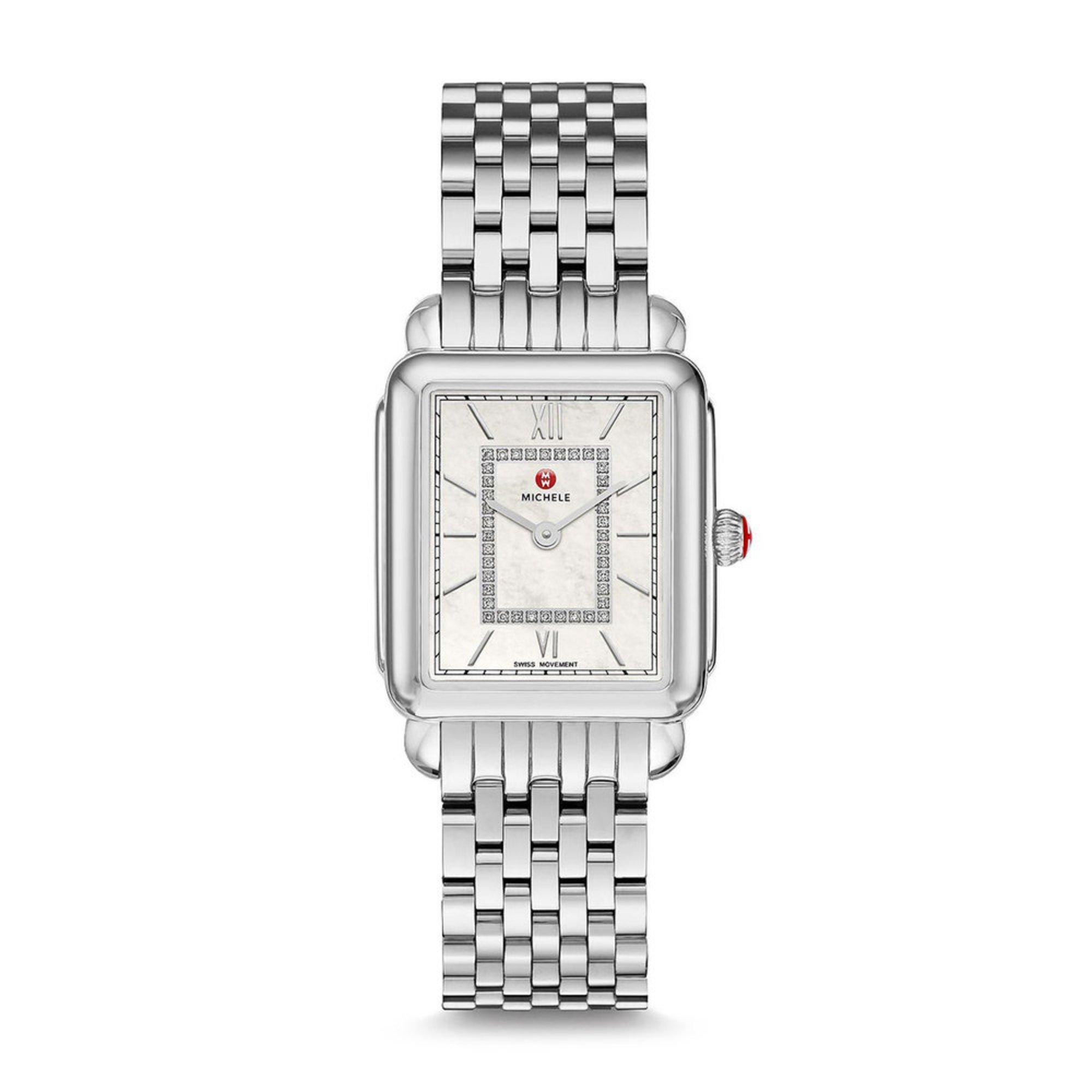8bda2da2014 Michele Women's Deco Ii Stainless Diamond Mid Watch, 26mm | Women's Watches  | Accessories - Shop Your Navy Exchange - Official Site