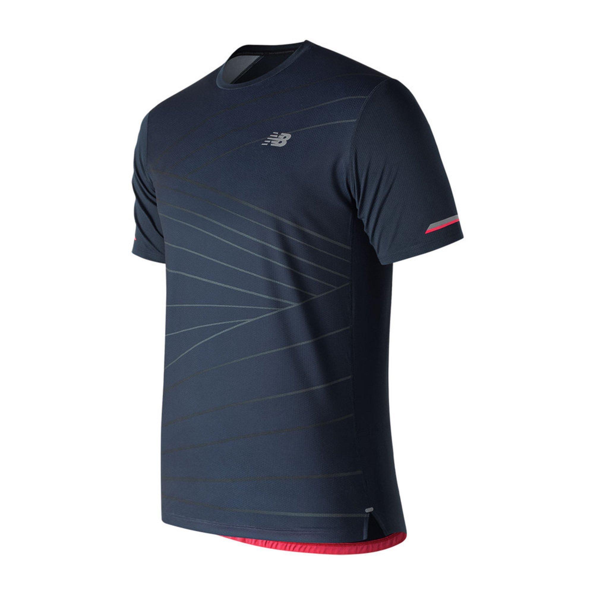 2cba5c6a725af New Balance Men's Ice 2.0 Short Sleeve Shirt | Active Tees | Apparel ...
