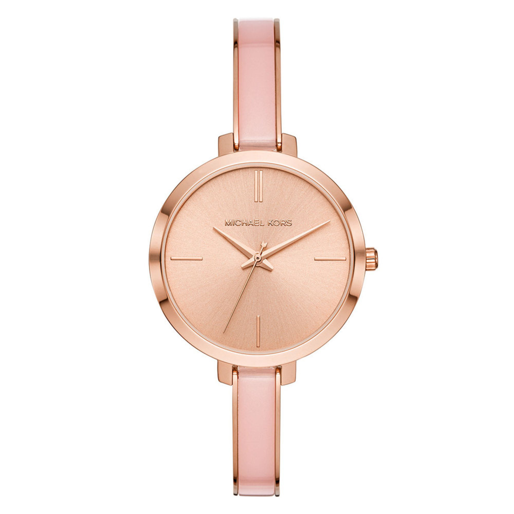 8125e20f41cd Michael Kors Women s Jaryn Pink Bangle Watch