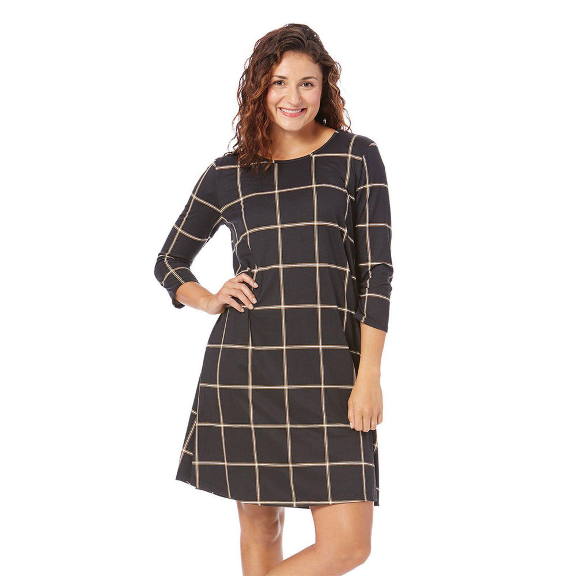 ba54ea1f56 Yarn   Sea Women s Yummy Knit Swing Dress In Plus Sizing