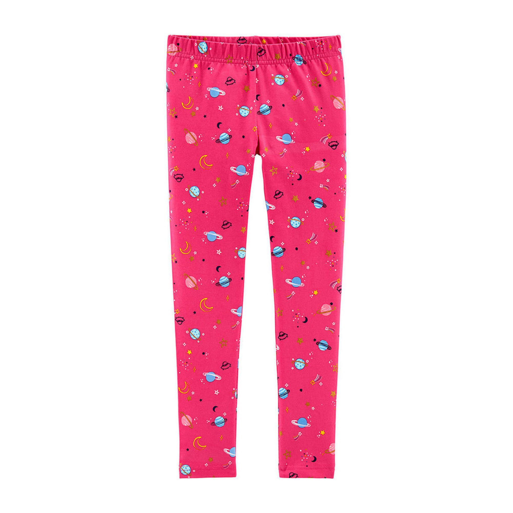 83f701146e5e3d Carters Toddler Girls All Over Space Print Legging | Little Girls ...