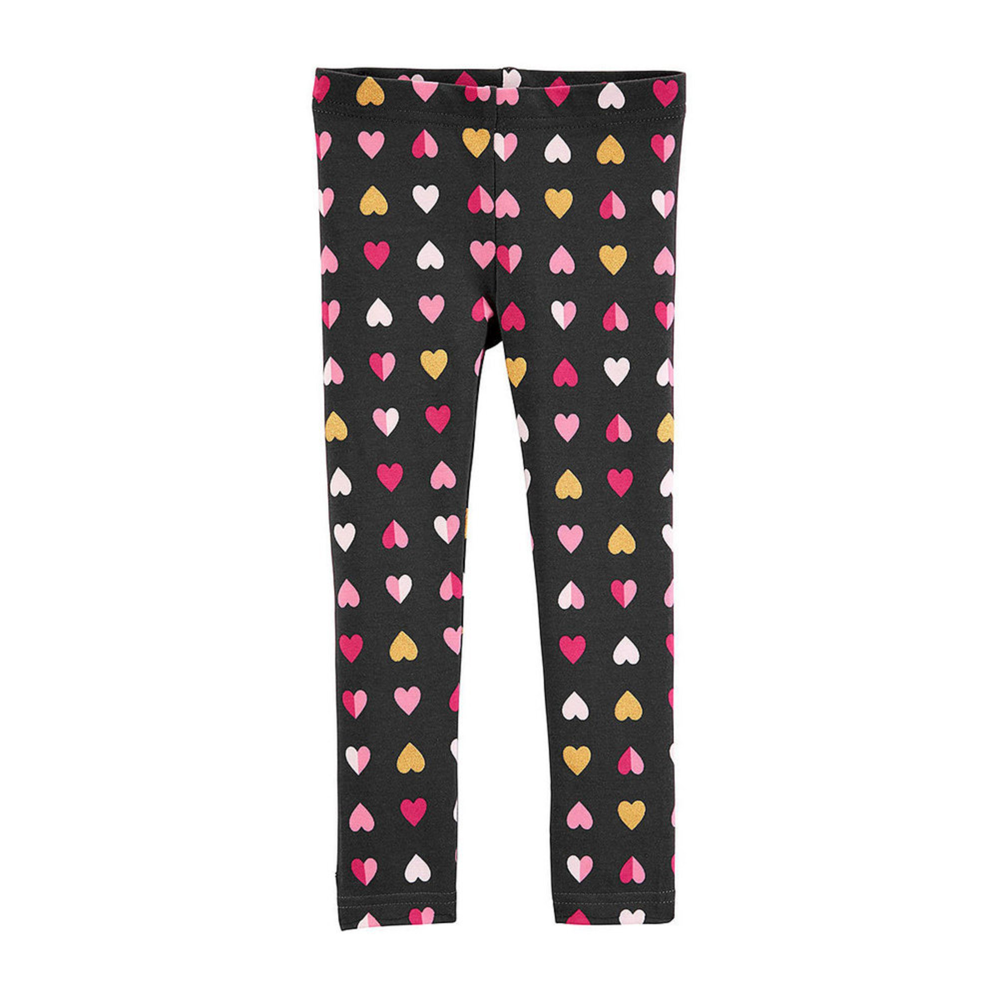 8c2749ef63f98 Carters Toddler Girls All Over Heart Print Glitter Legging | Little ...