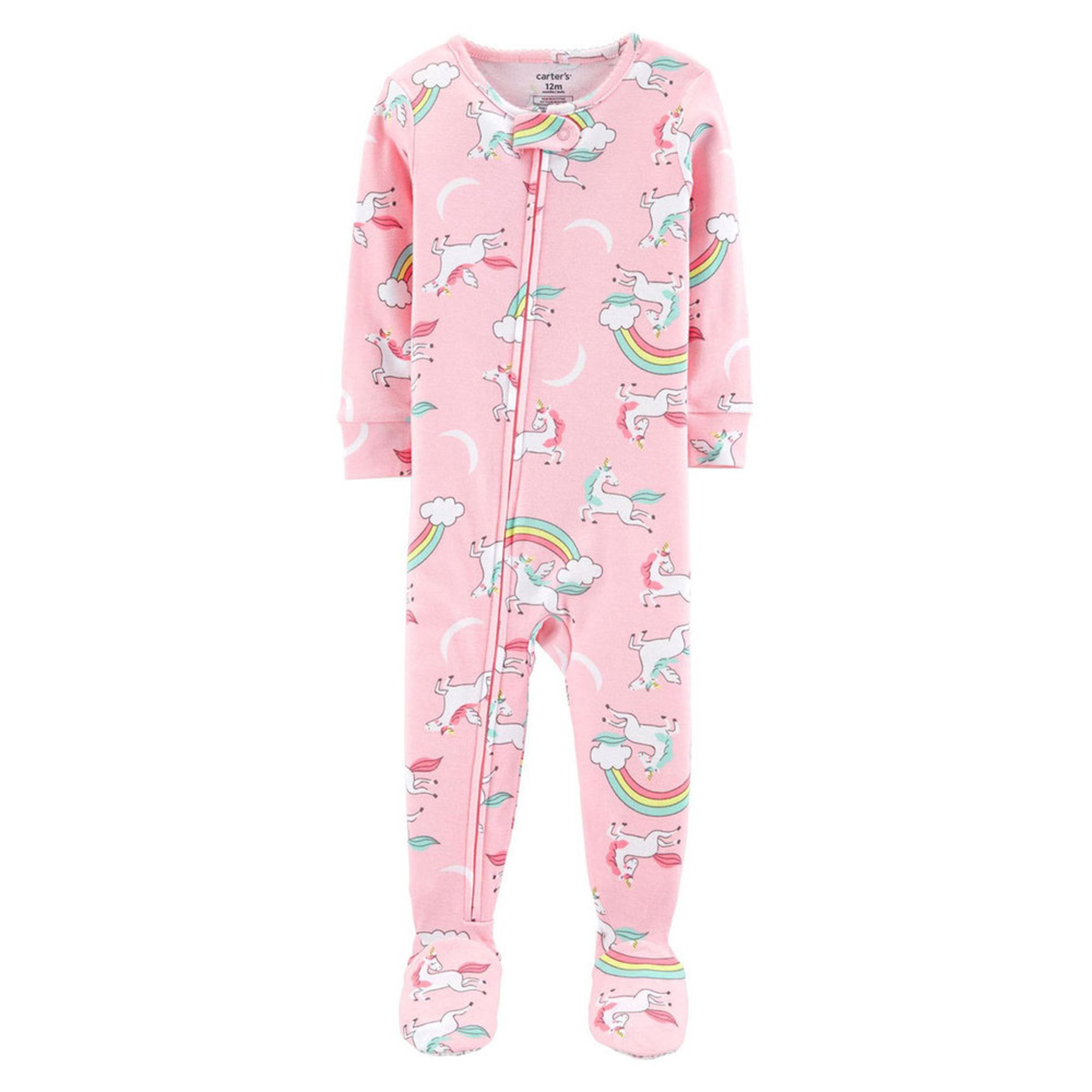 96e62cfdb Carter's Toddler Girls' Rainbow Unicorn Print Pajamas | Little Girls ...