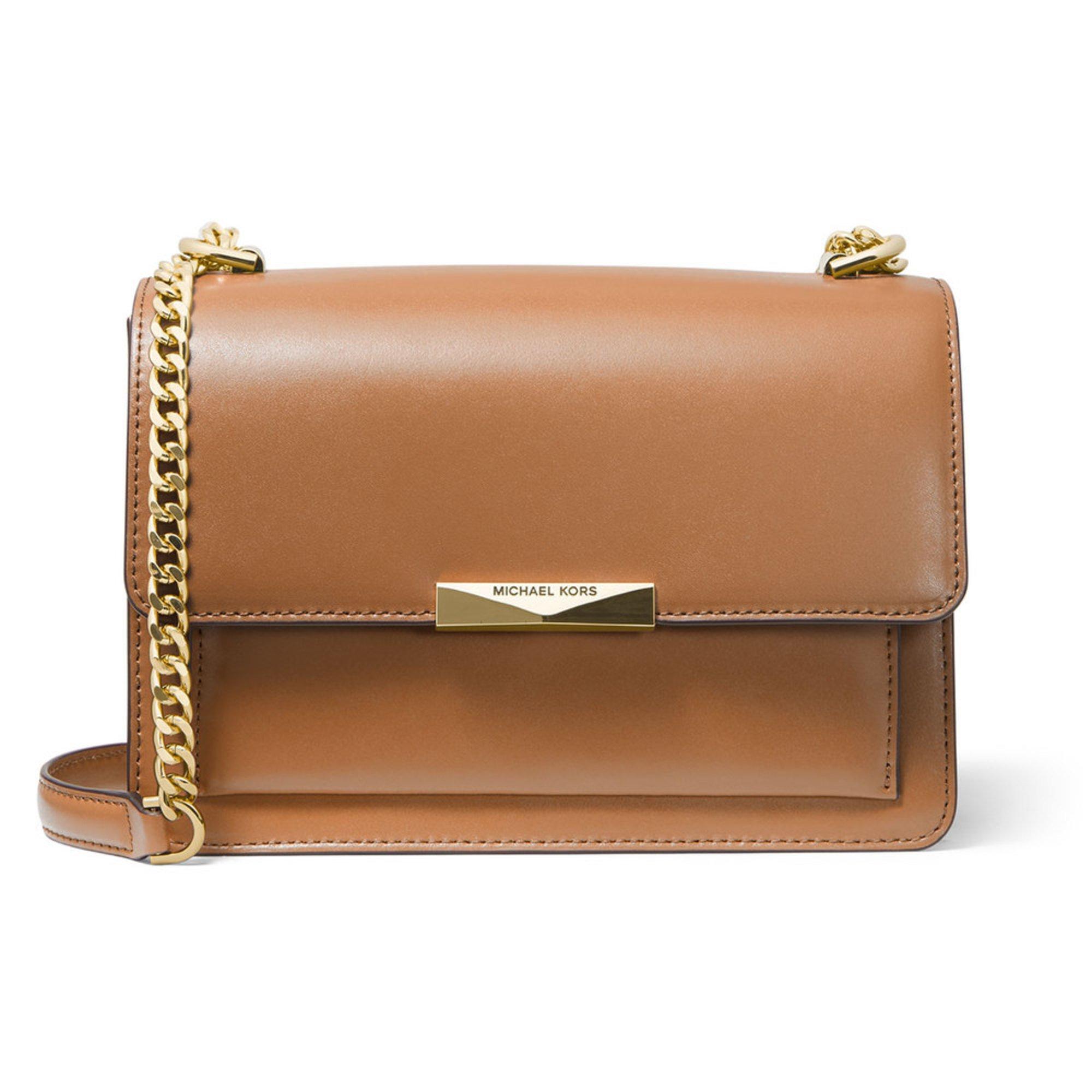 ed43925f87fc Michael Kors Jade Large Gusset Shoulder Black   Shoulder Bags   Accessories  - Shop Your Navy Exchange - Official Site
