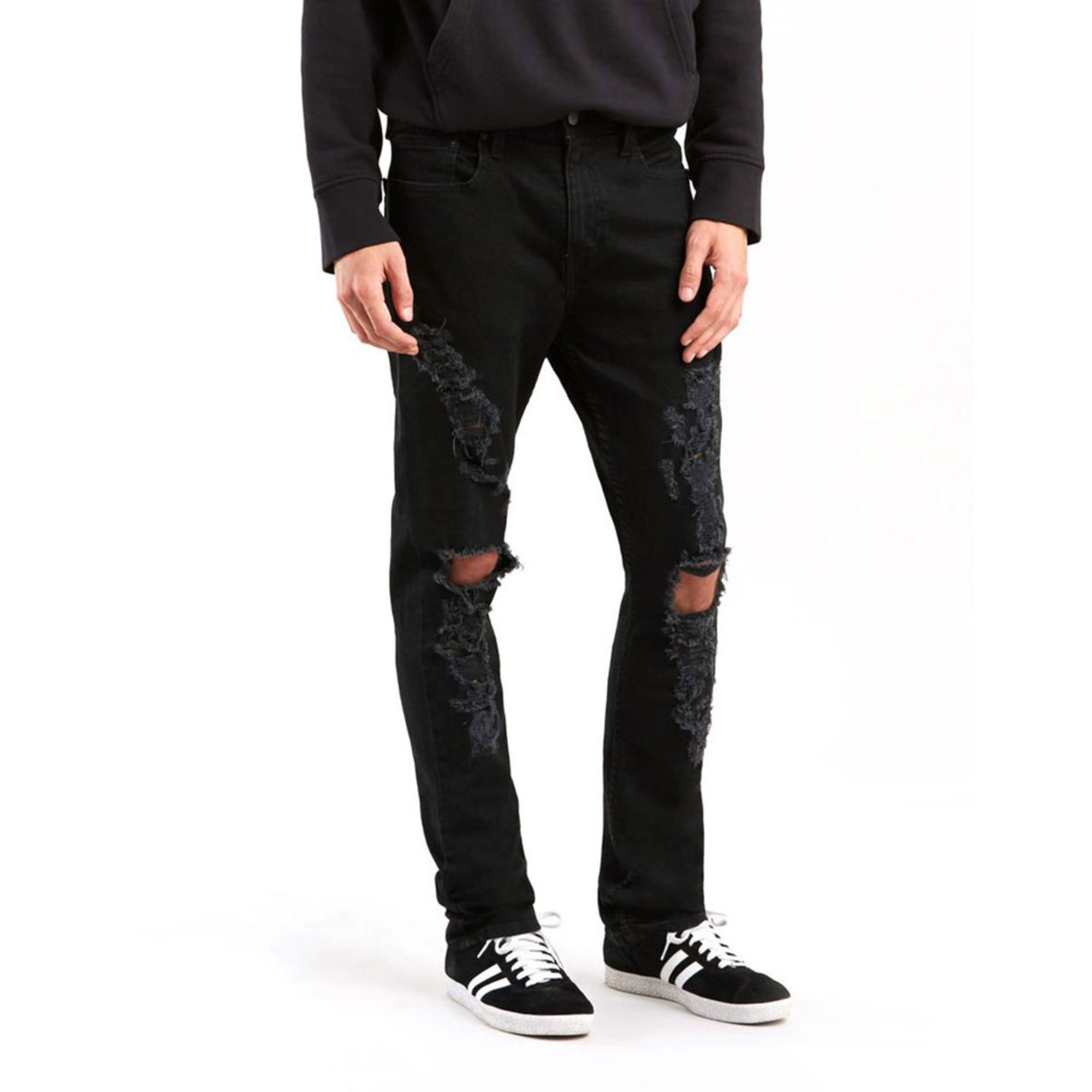 c28e0f753dd Levi s Men s 512 Slim Tapered Rip-n-tear Jeans
