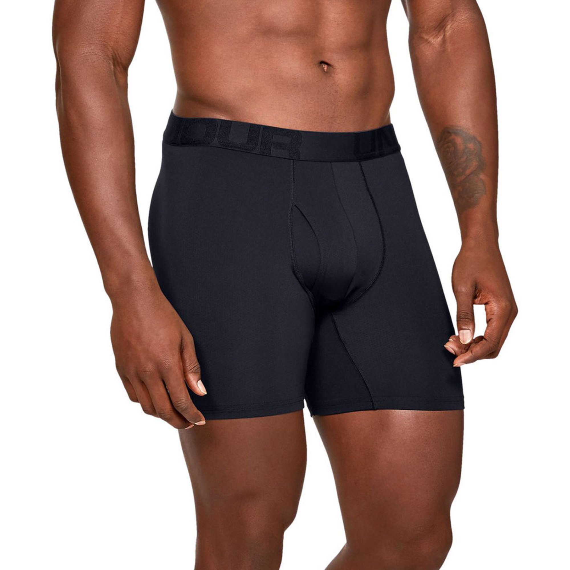 86322b1902cd63 Under Armour Men's Tech Mesh 2-pack 6 Inch Boxer Briefs | Men's ...