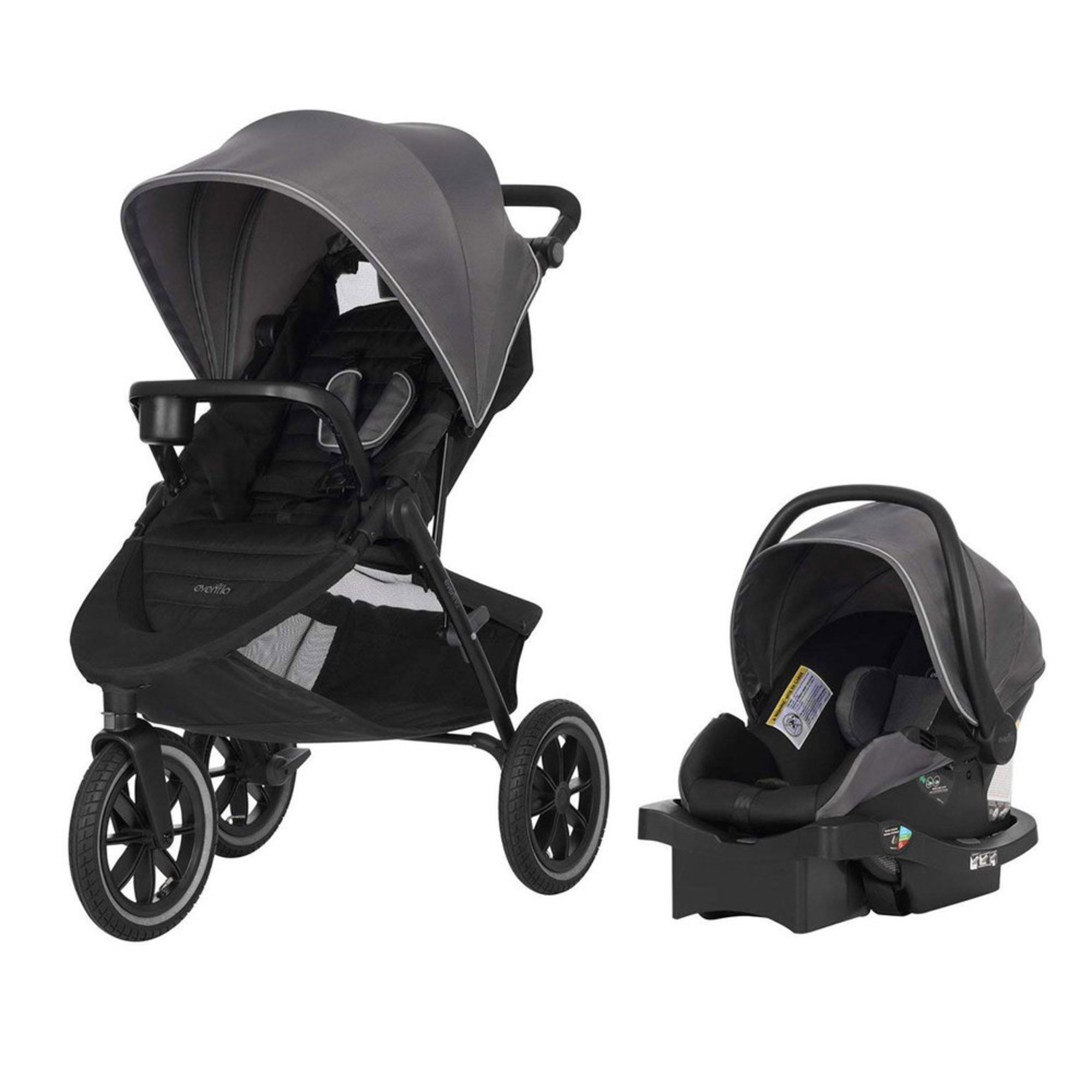 Evenflo Folio3 Stroller And Jogger Travel System