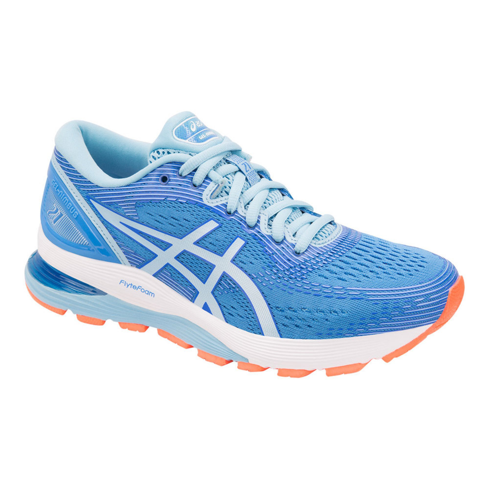 check-out 6161f aa33e Asics Women's Gel Nimbus 21 Running Shoe