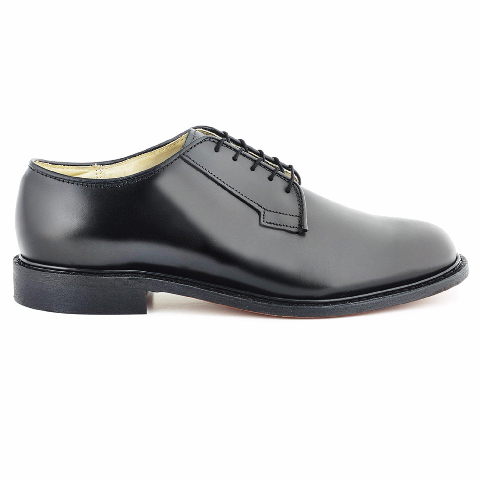 Bates Womens Navy Premier Oxford Uniform Dress Shoe Shoes Uniform Dress  Shoes