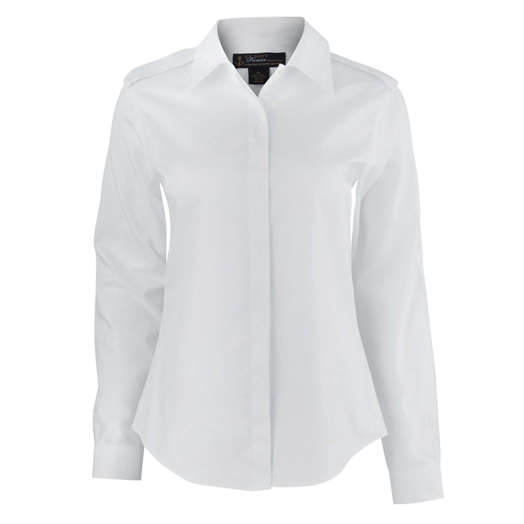 61941166e88e5 Brooks Brothers Women s No-iron White Dress Shirt