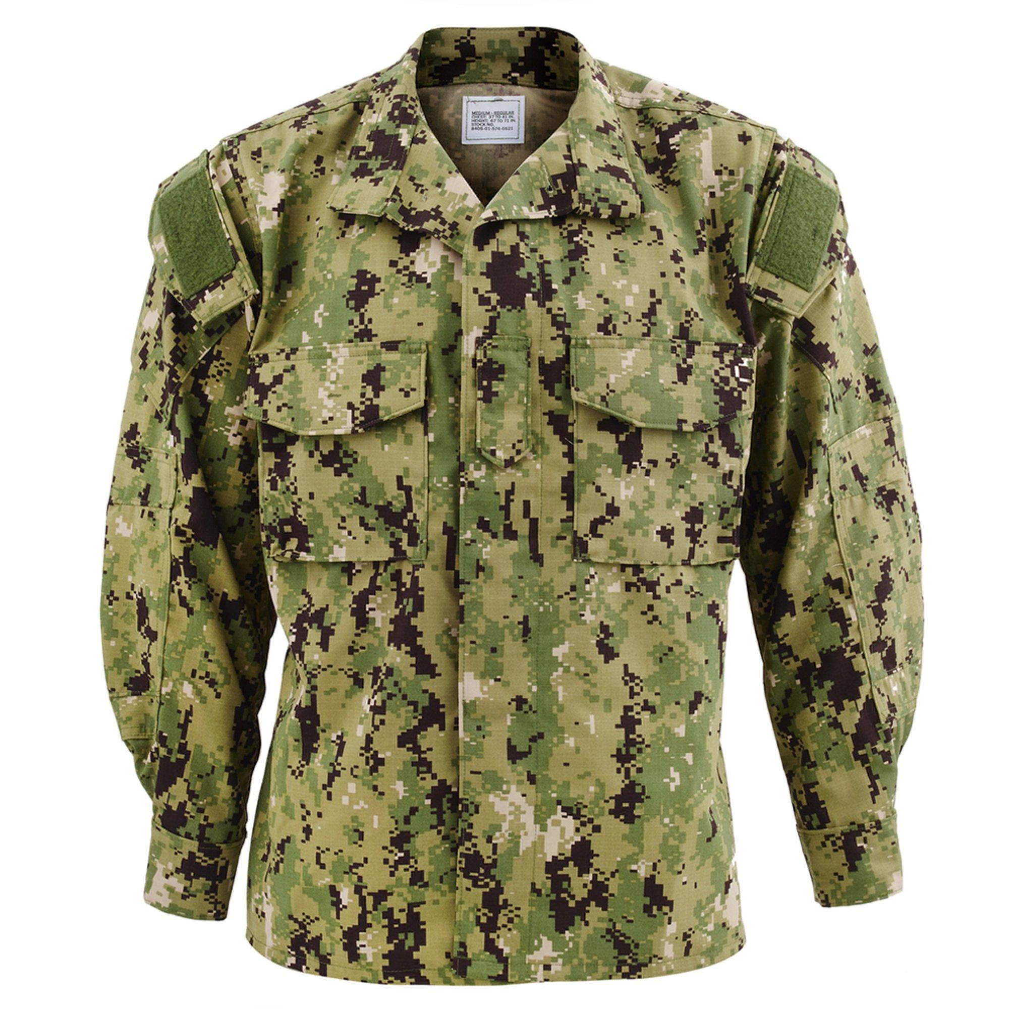 Nwu Type Iii Woodland Blouse | Navy Working Uniform (nwu Iii