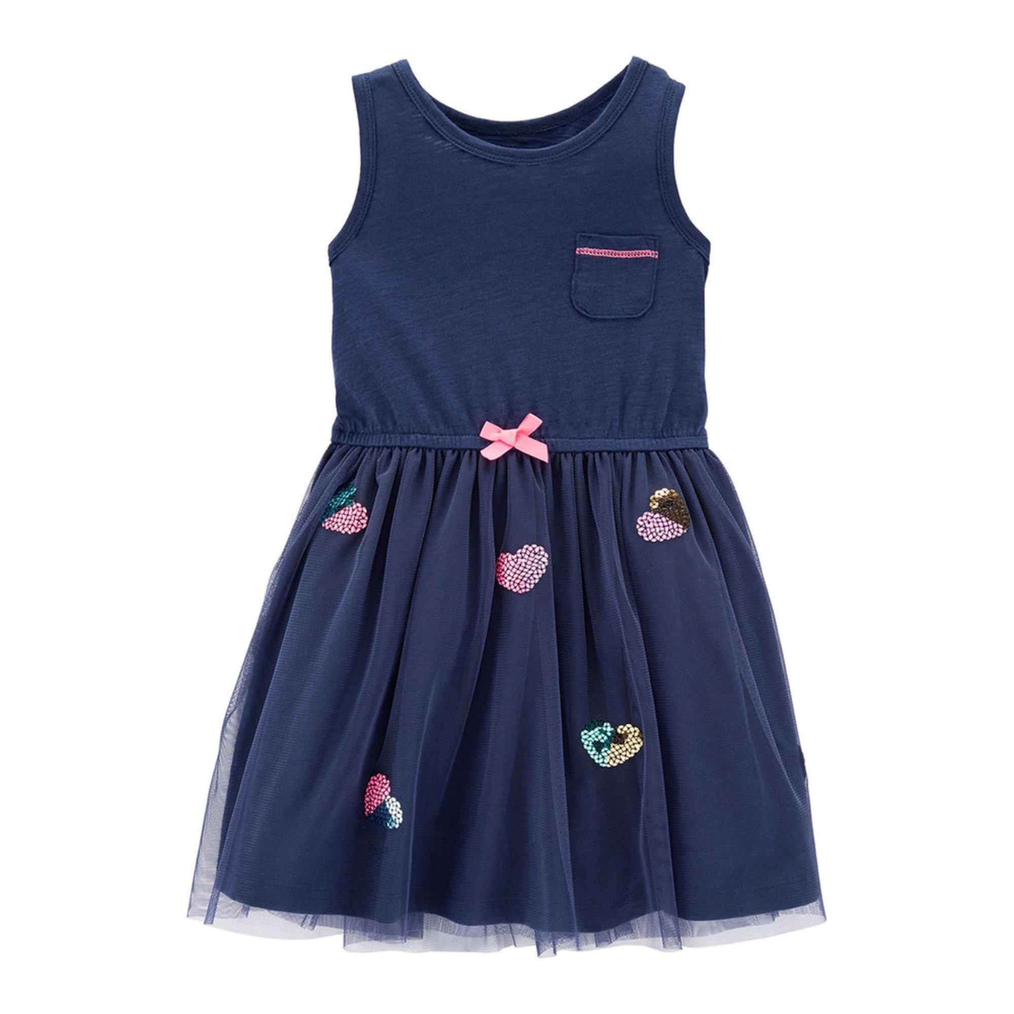 69c632581df6 Carter s Toddler Girls  Heart Print Knit Dress