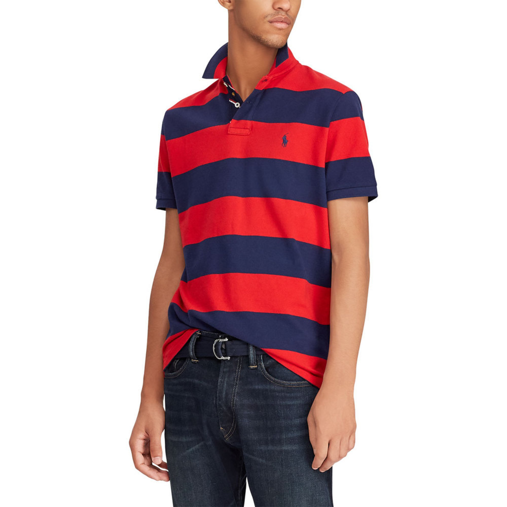 a1287d46 Polo Ralph Lauren Men's Short Sleeve Mesh Polo   Casual & Dress ...