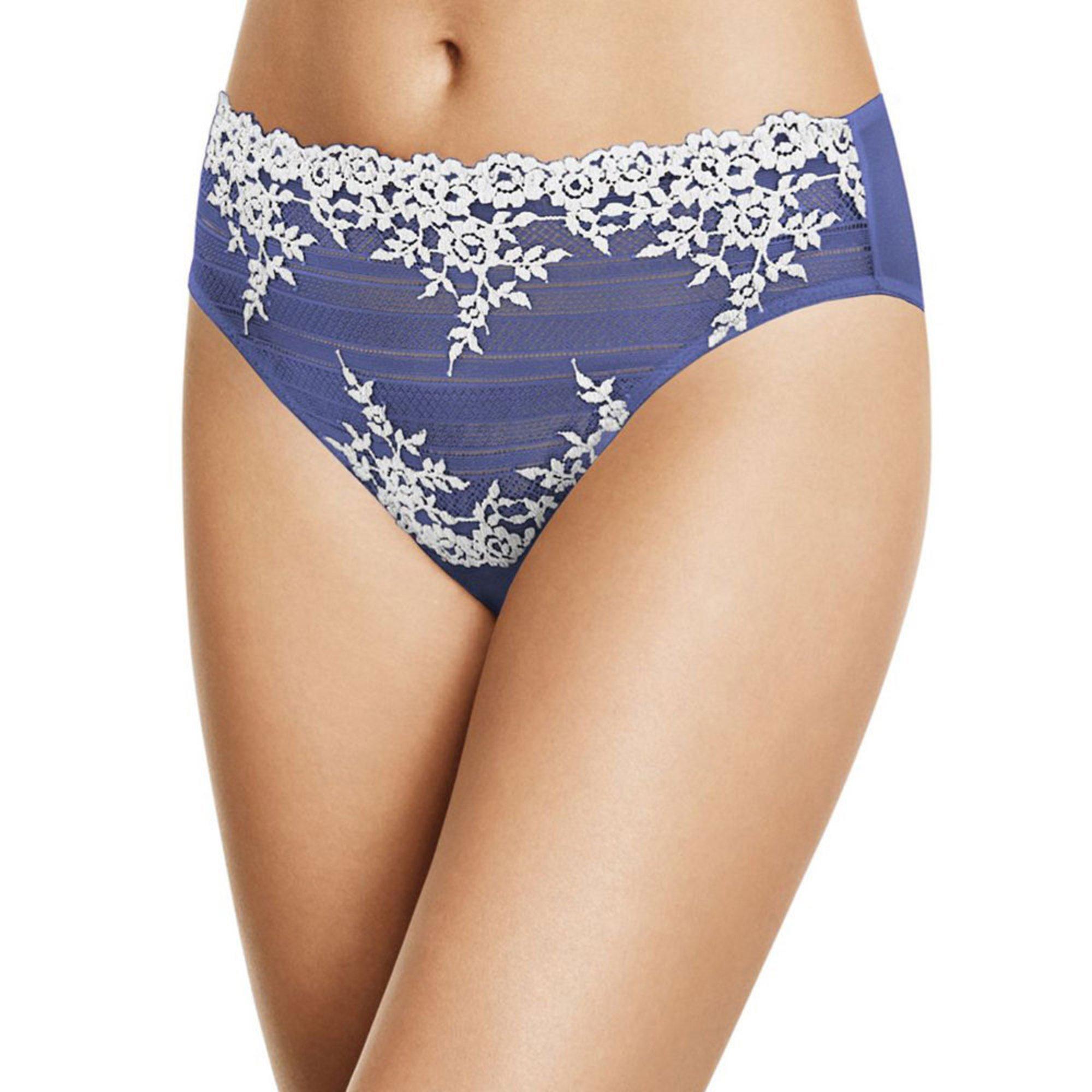 4573eb3624a7 Wacoal Women's Embrace Lace High Cut Brief   Hi-cut Panties ...