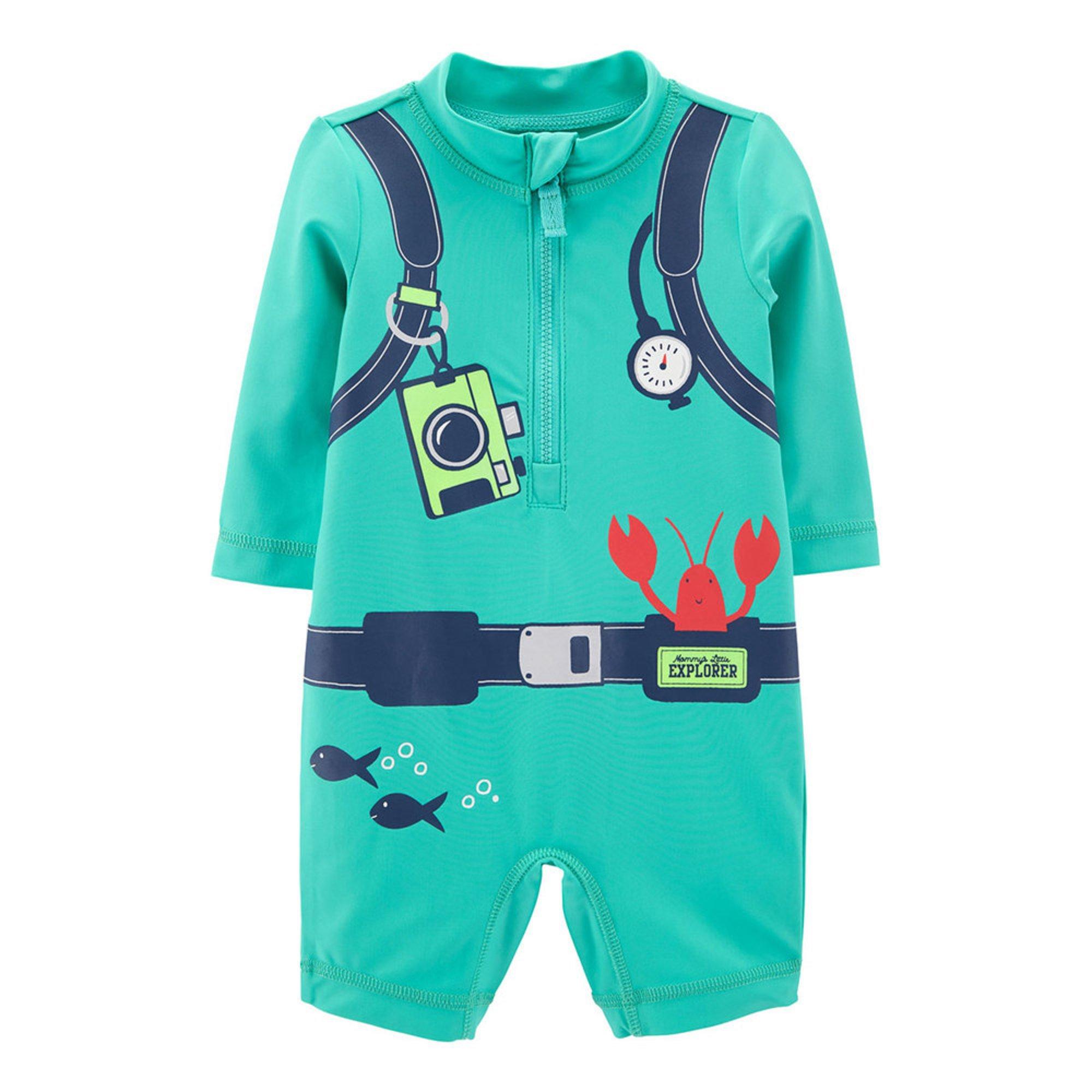 8805089a650ac Carter's Baby Boys' Scuba Rashguard | Baby Boys' Swimwear | Apparel ...