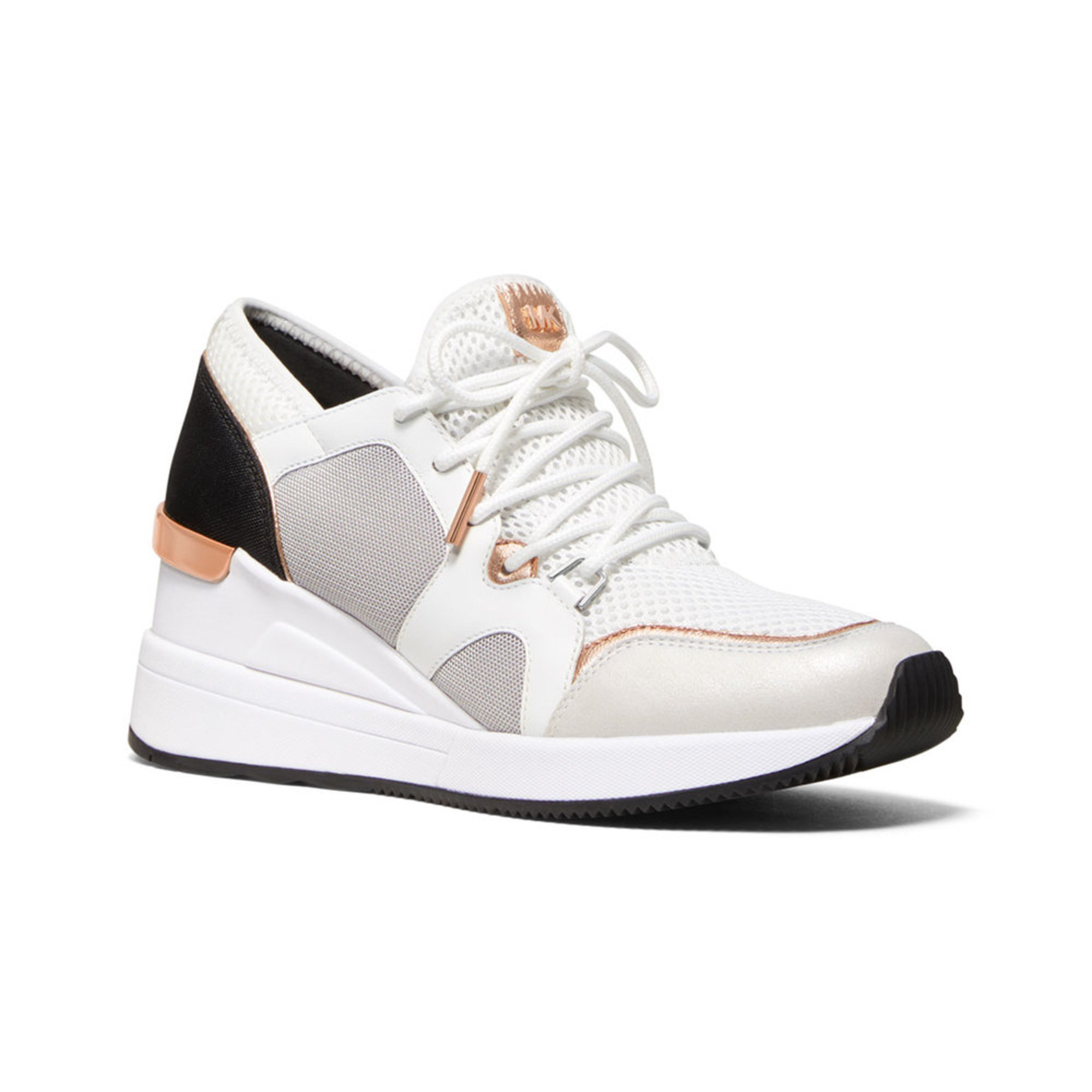944afaf4e55e3 Michael Kors Women s Liv Trainer Sneaker