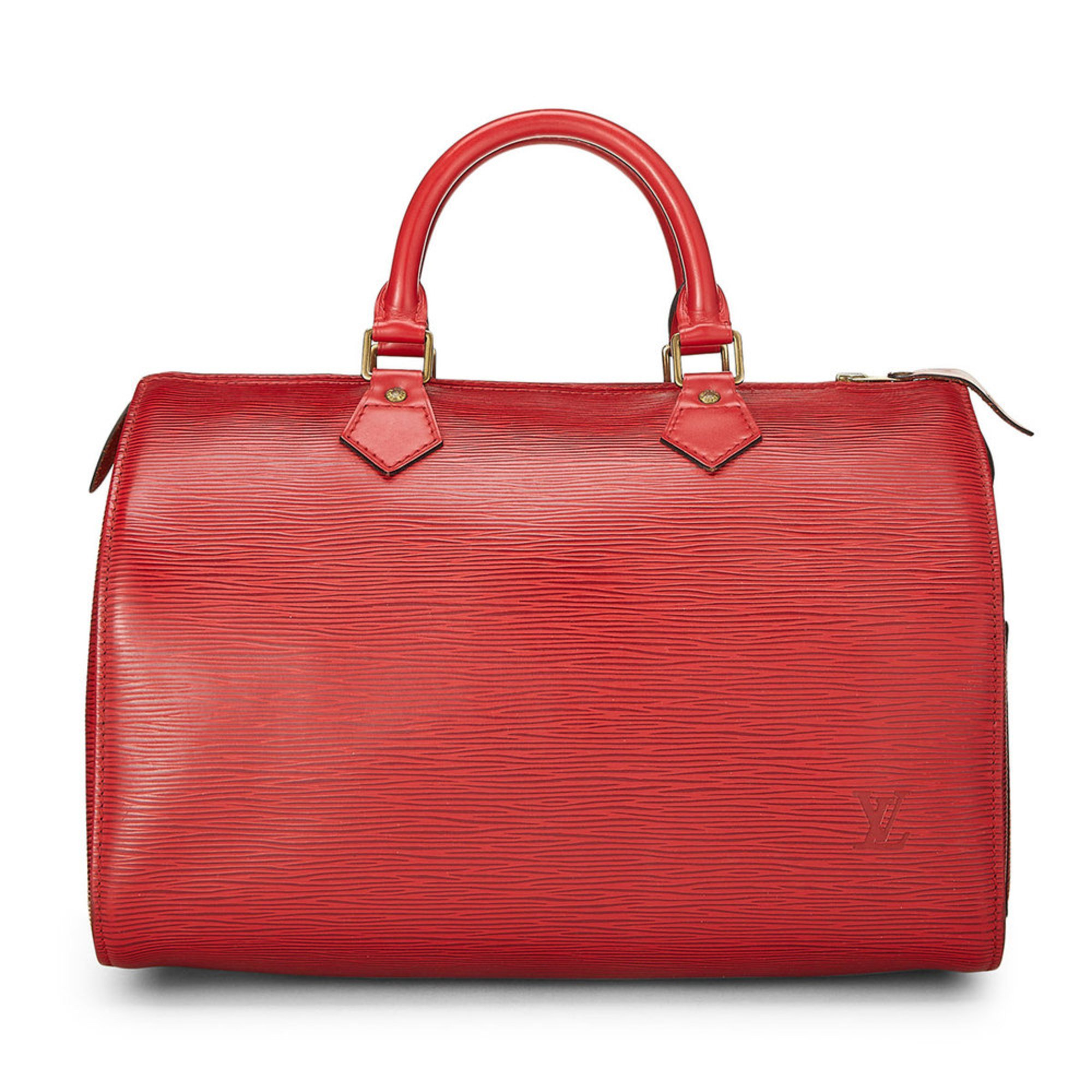 7bce3c8ff19 Louis Vuitton Red Epi Speedy 30