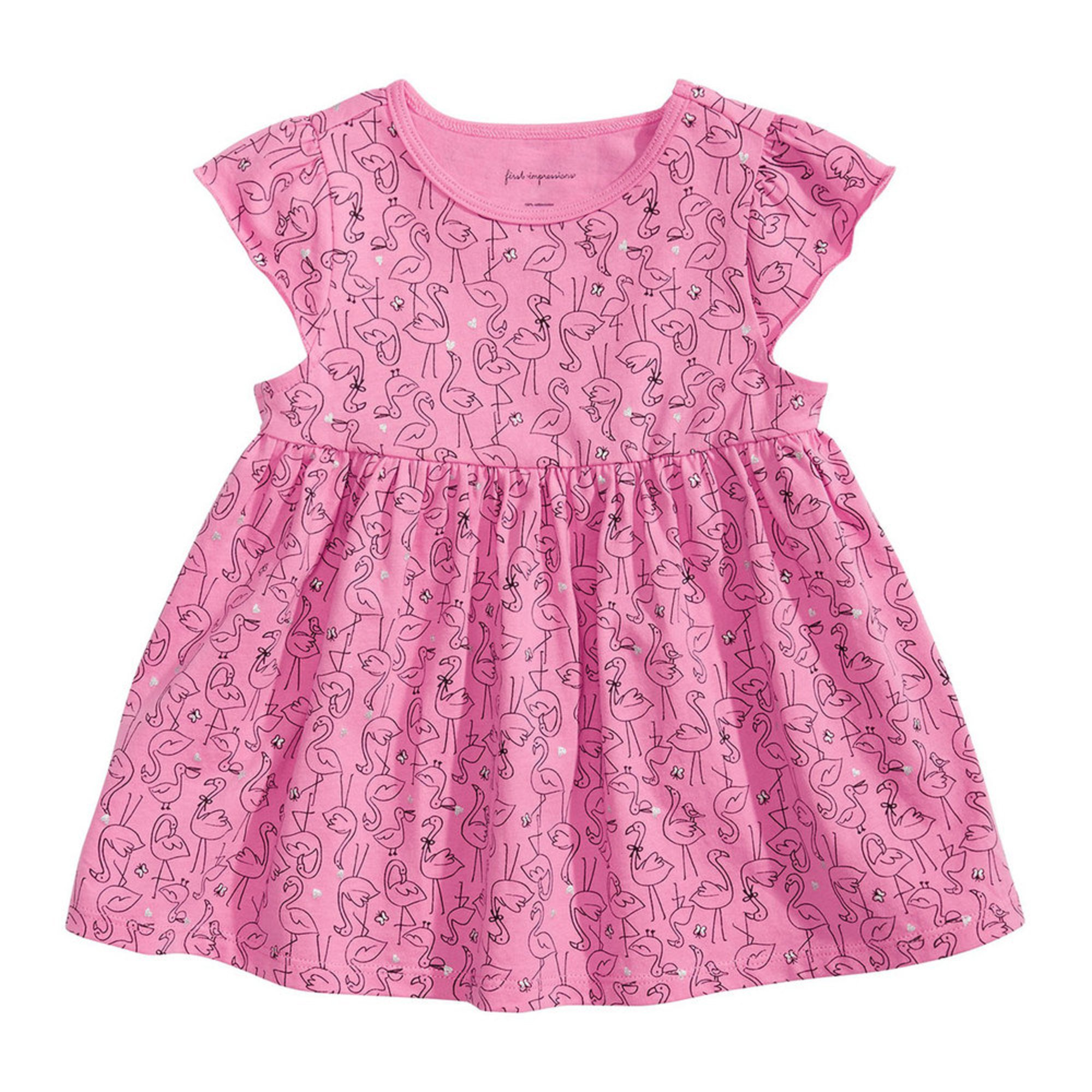 a889d633e First Impressions Baby Girls' Flamingo Tunic | Baby Girls' Tops ...