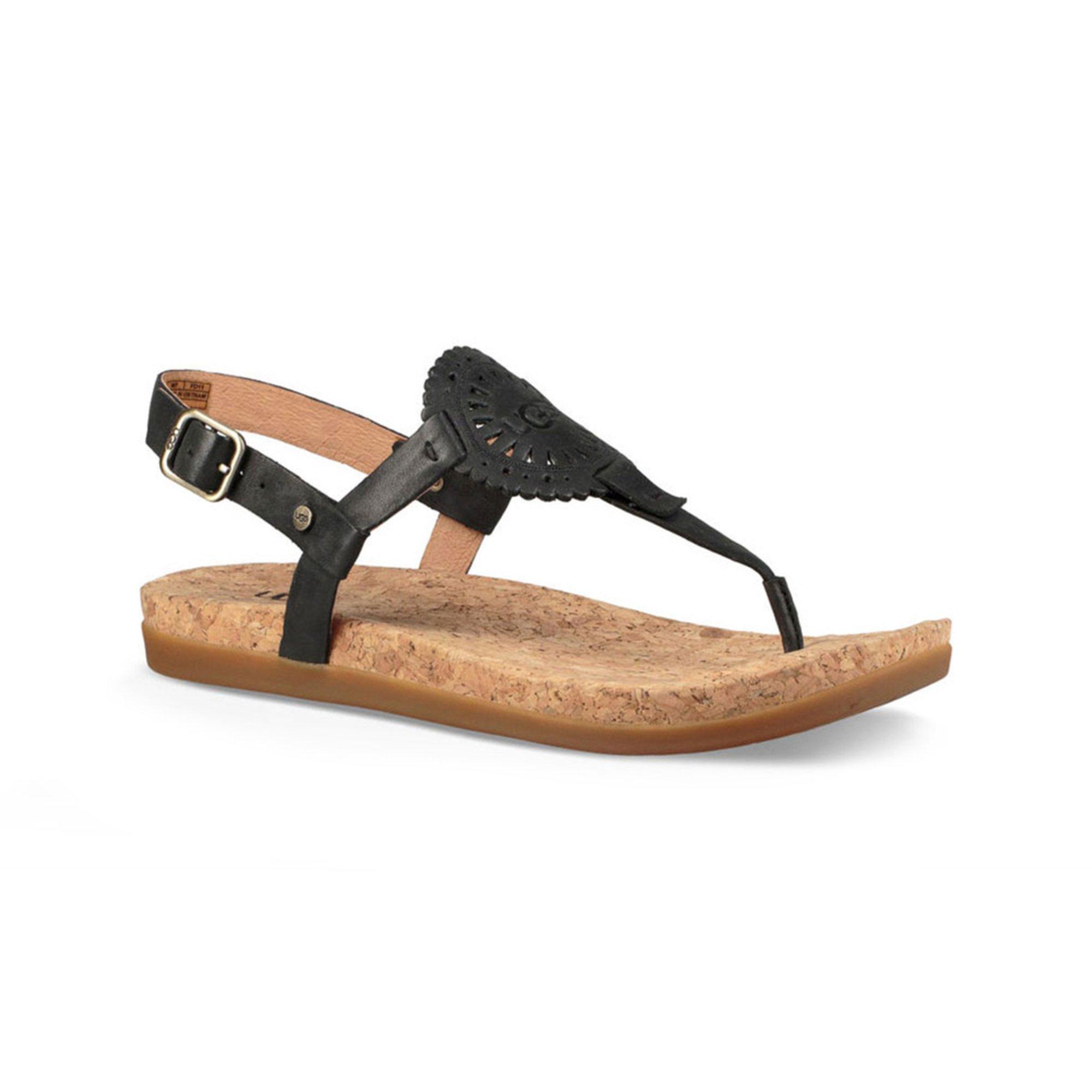 22a550cad45 Ugg Women's Ayden Ii Logo Thong Backstrap Sandal | Women's Sandals ...