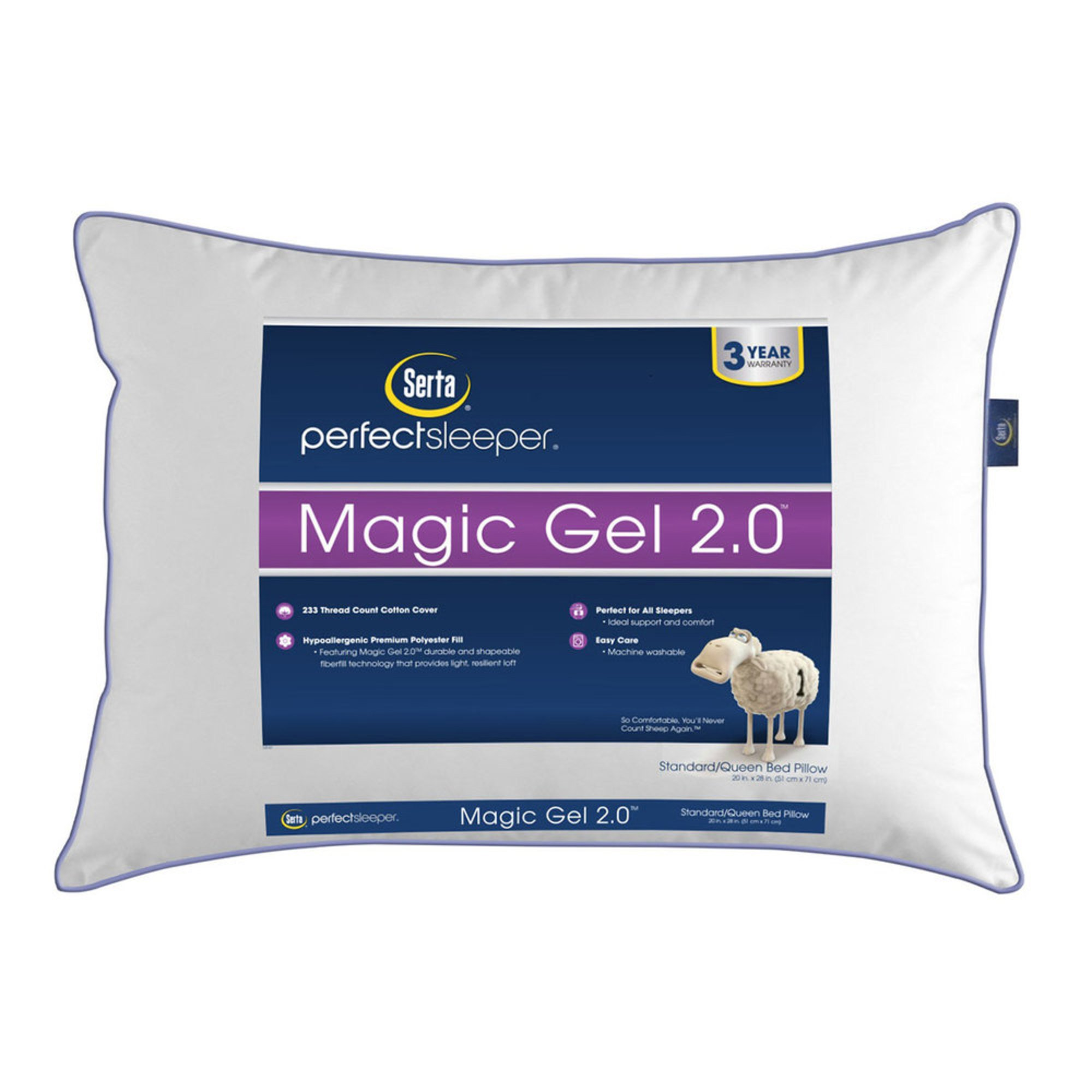 Magic Gel 2 0 Jumbo Pillow Bed Pillows Protectors For The Home