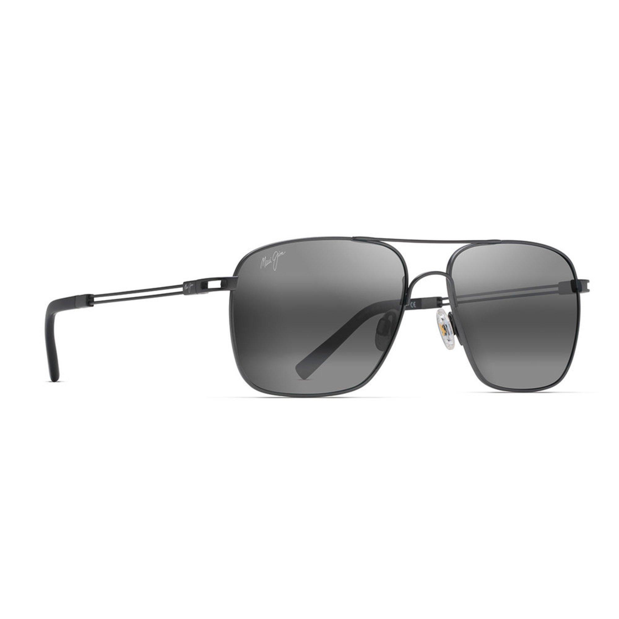 17052c16dd Maui Jim Unisex Haleiwa Gunmetal Sunglasses 56mm | Women's ...