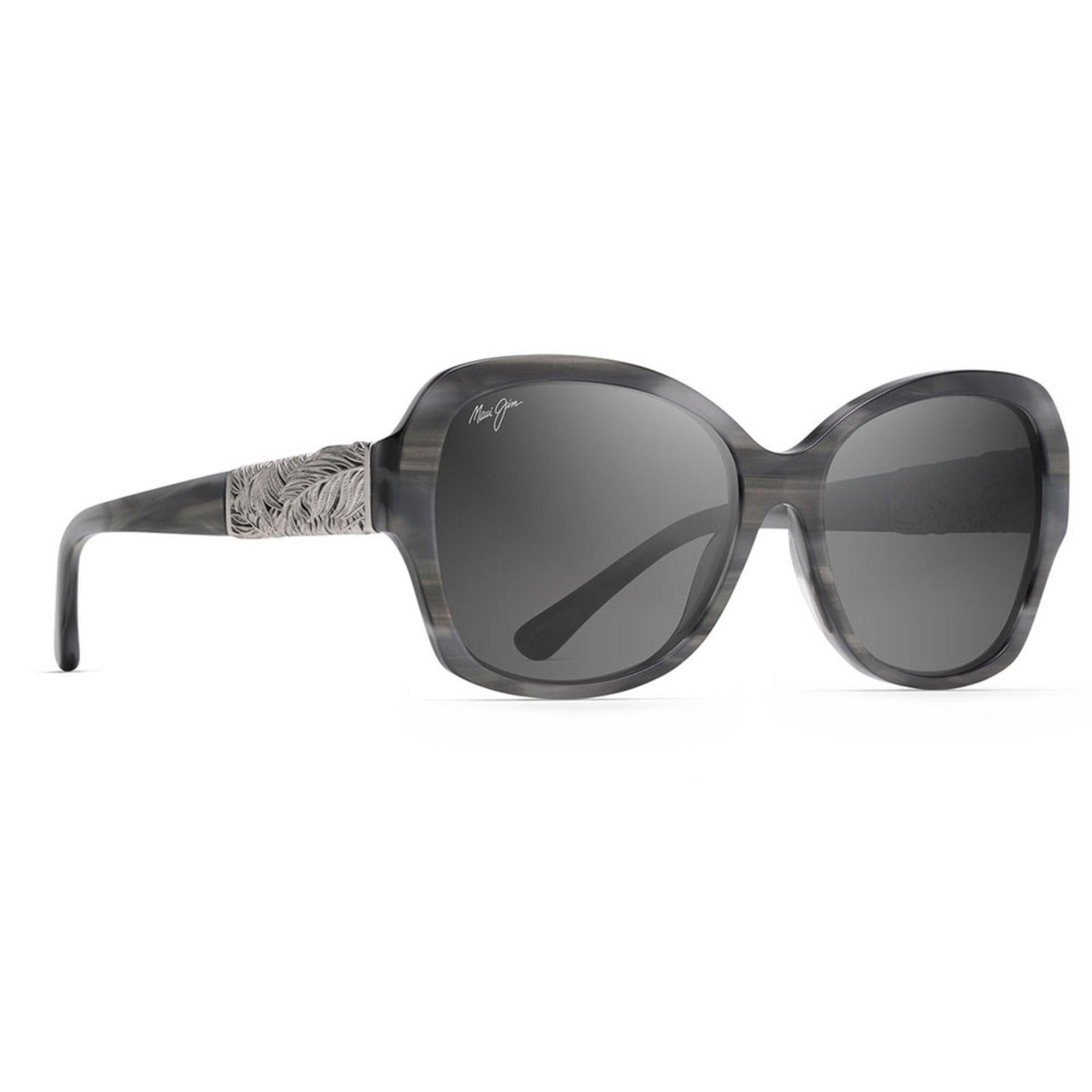 dab2ee6d75d38 Maui Jim. Maui Jim Womens Swaying Palms Blue Grey Gold Sunglasses 57mm
