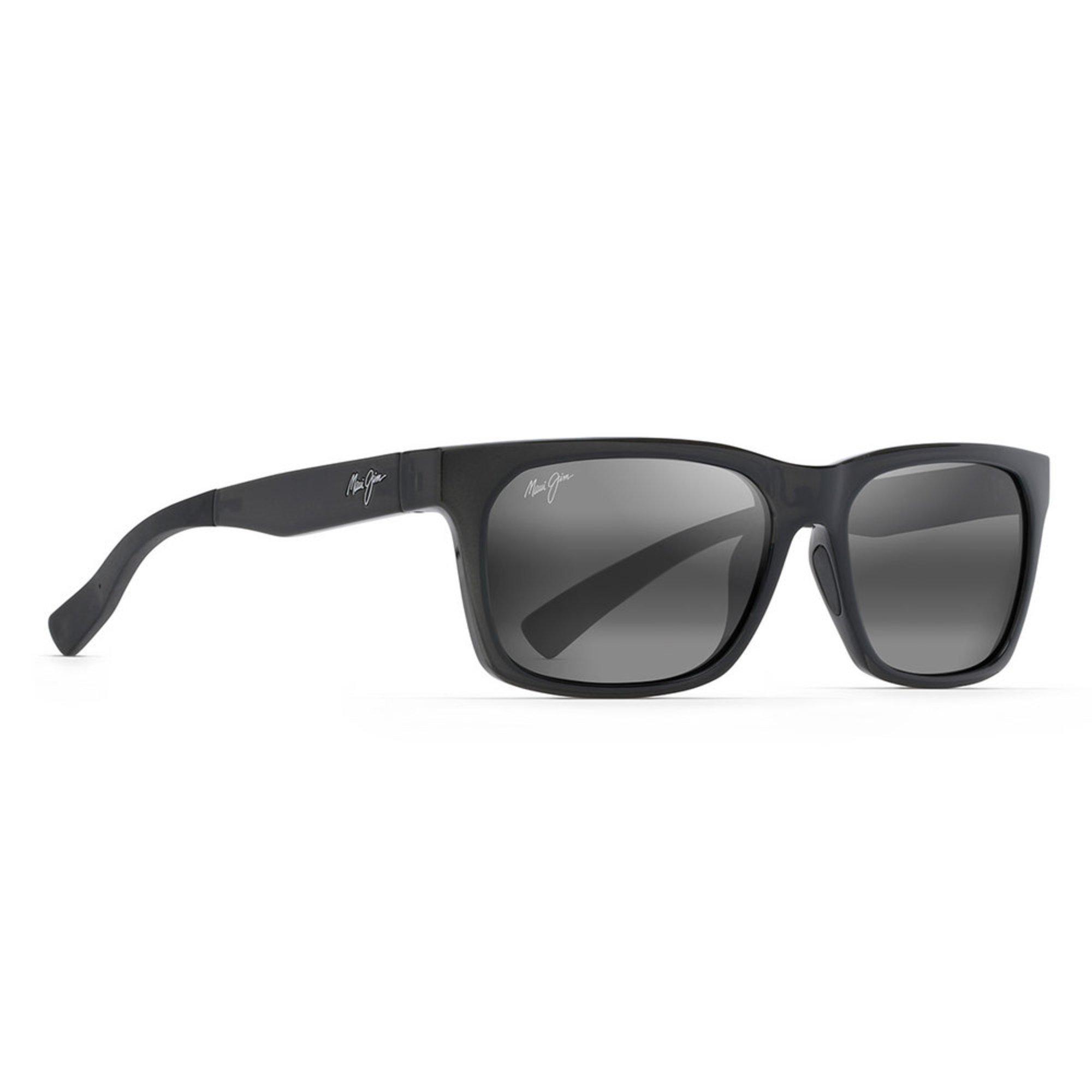 8362f9e423545 Maui Jim. Maui Jim Unisex Boardwalk Grey Sunglasses 56mm